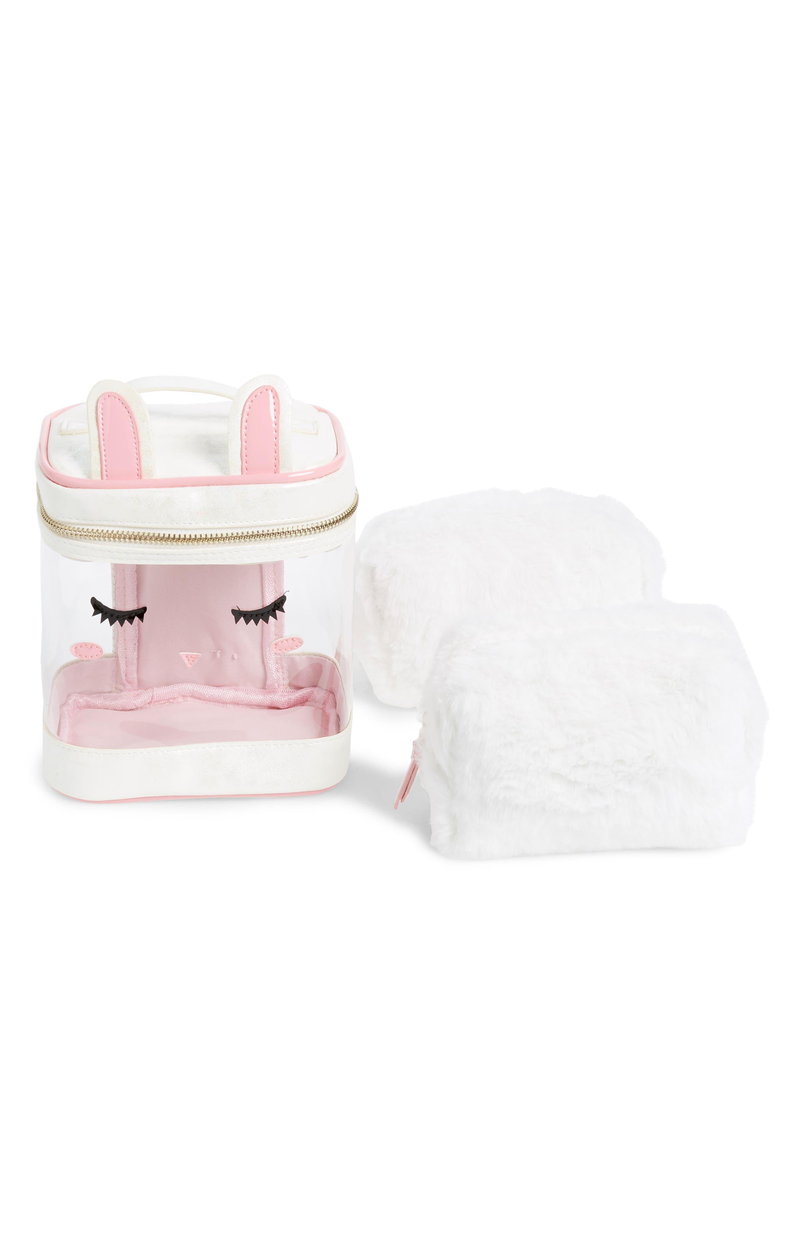 Bunny Three-Piece Bag Set,                         Main,                         color, BUNNY