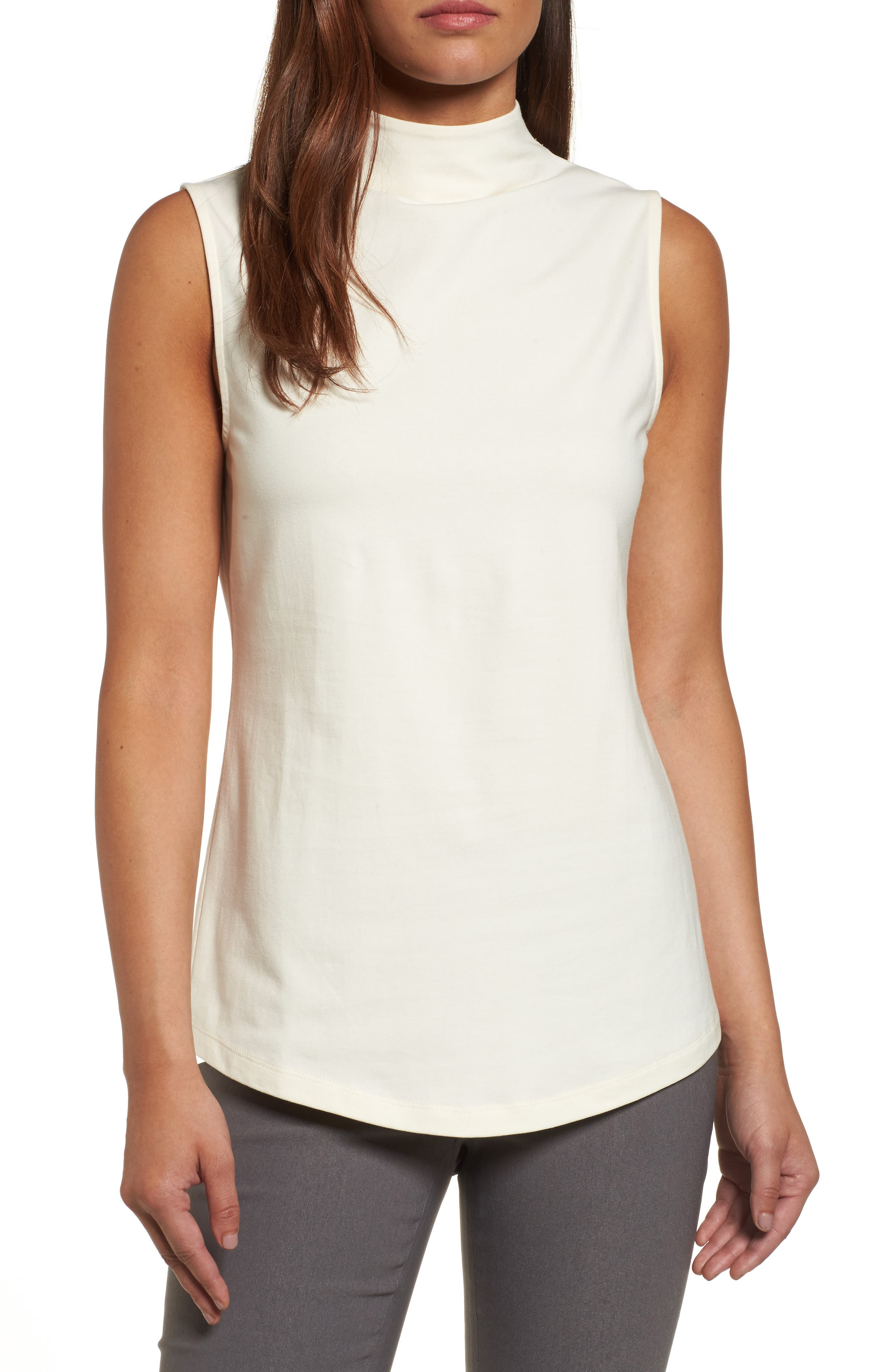 The Perfect Mock Neck Top,                             Main thumbnail 5, color,