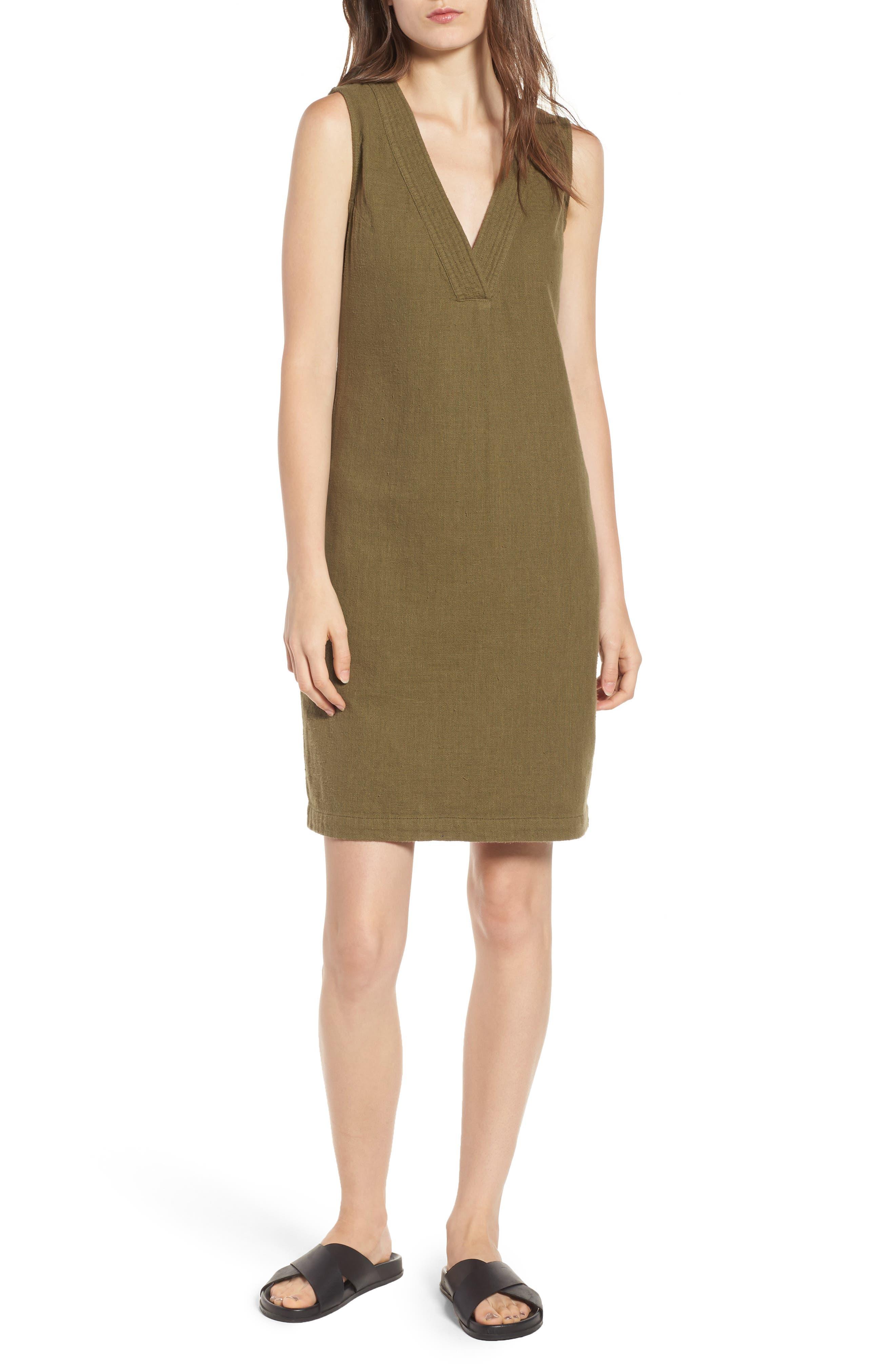 Melissa Dress,                         Main,                         color, OLIVE GROVE
