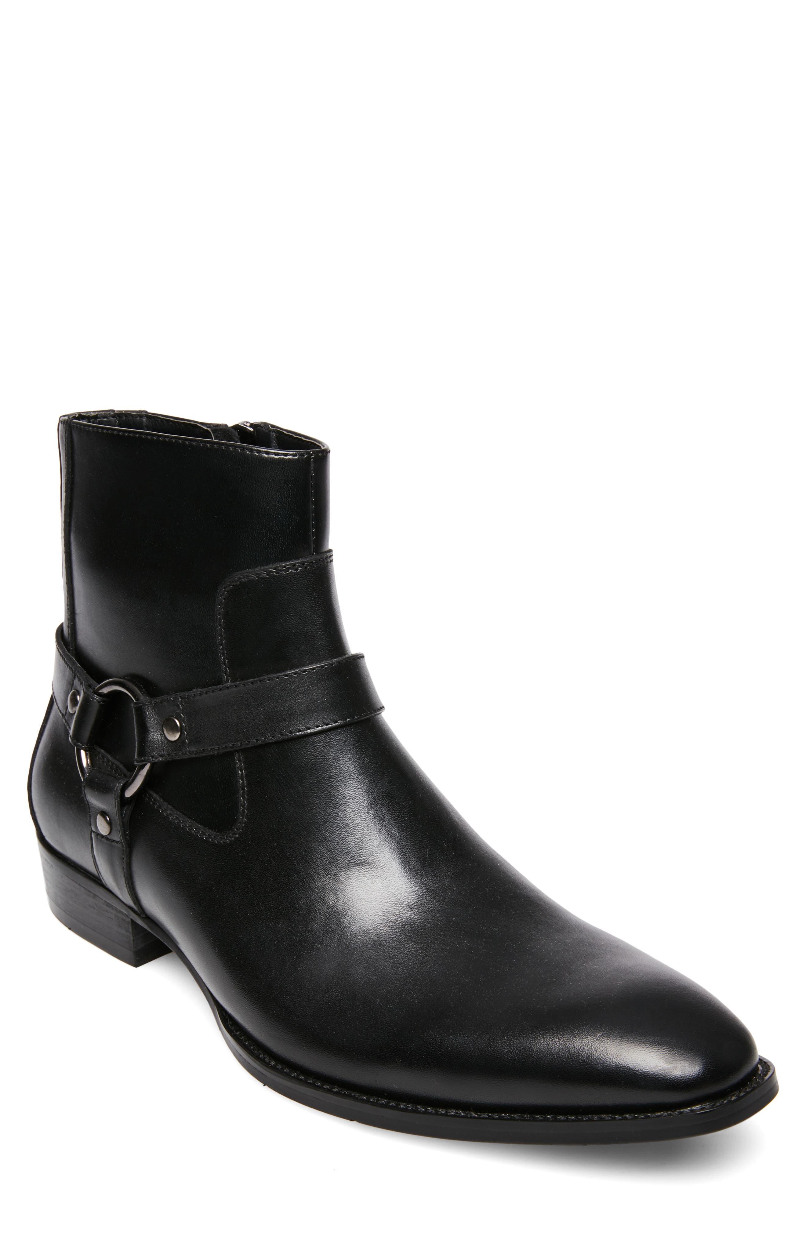Sebastian Boot,                         Main,                         color, BLACK LEATHER