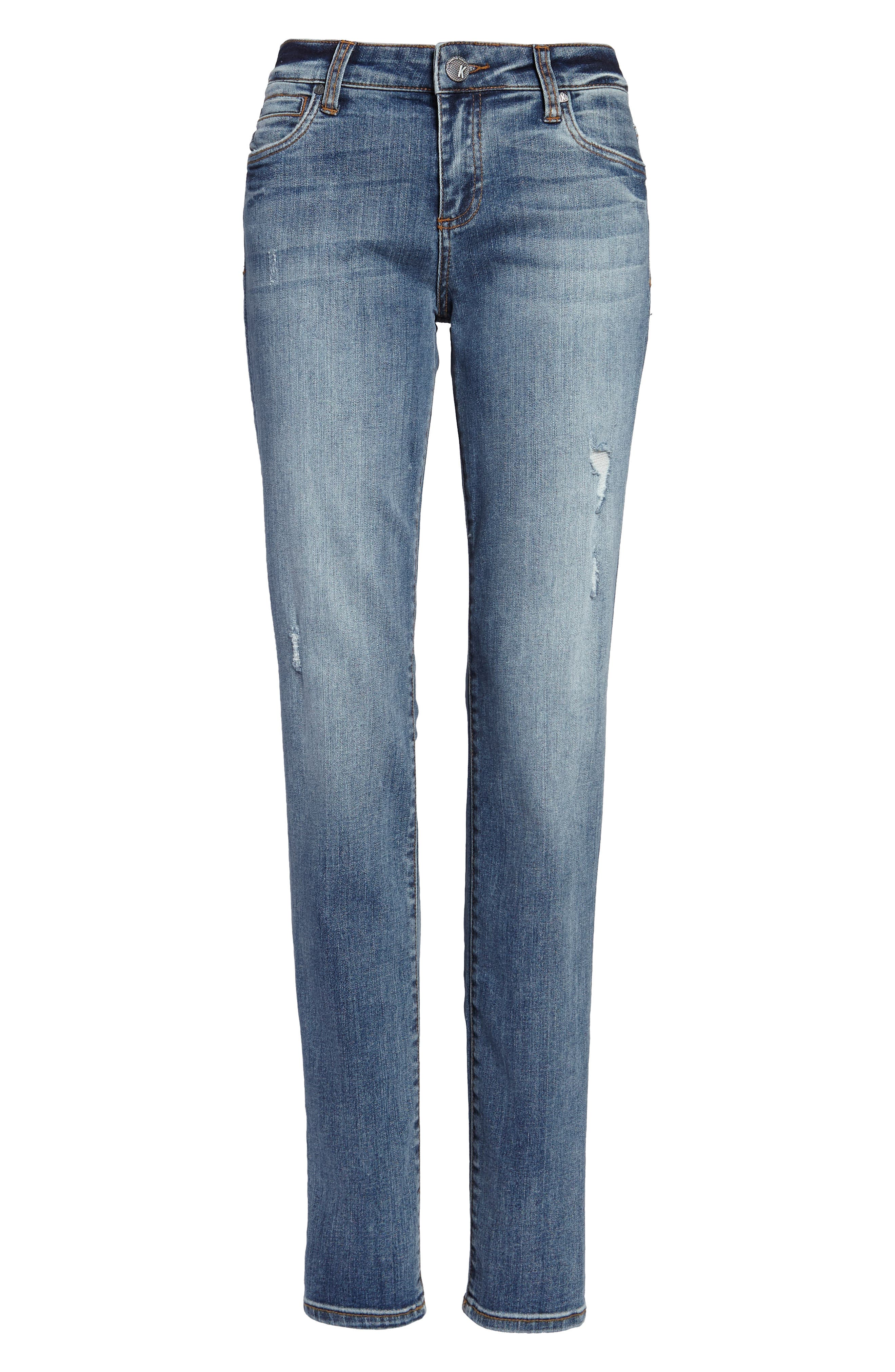 Diana Stretch Skinny Jeans,                             Alternate thumbnail 5, color,                             453