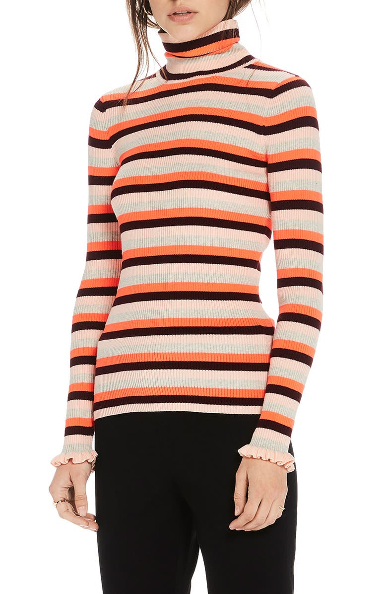 fe9488b515 Scotch   Soda Stripe Ruffle Cuff Sweater