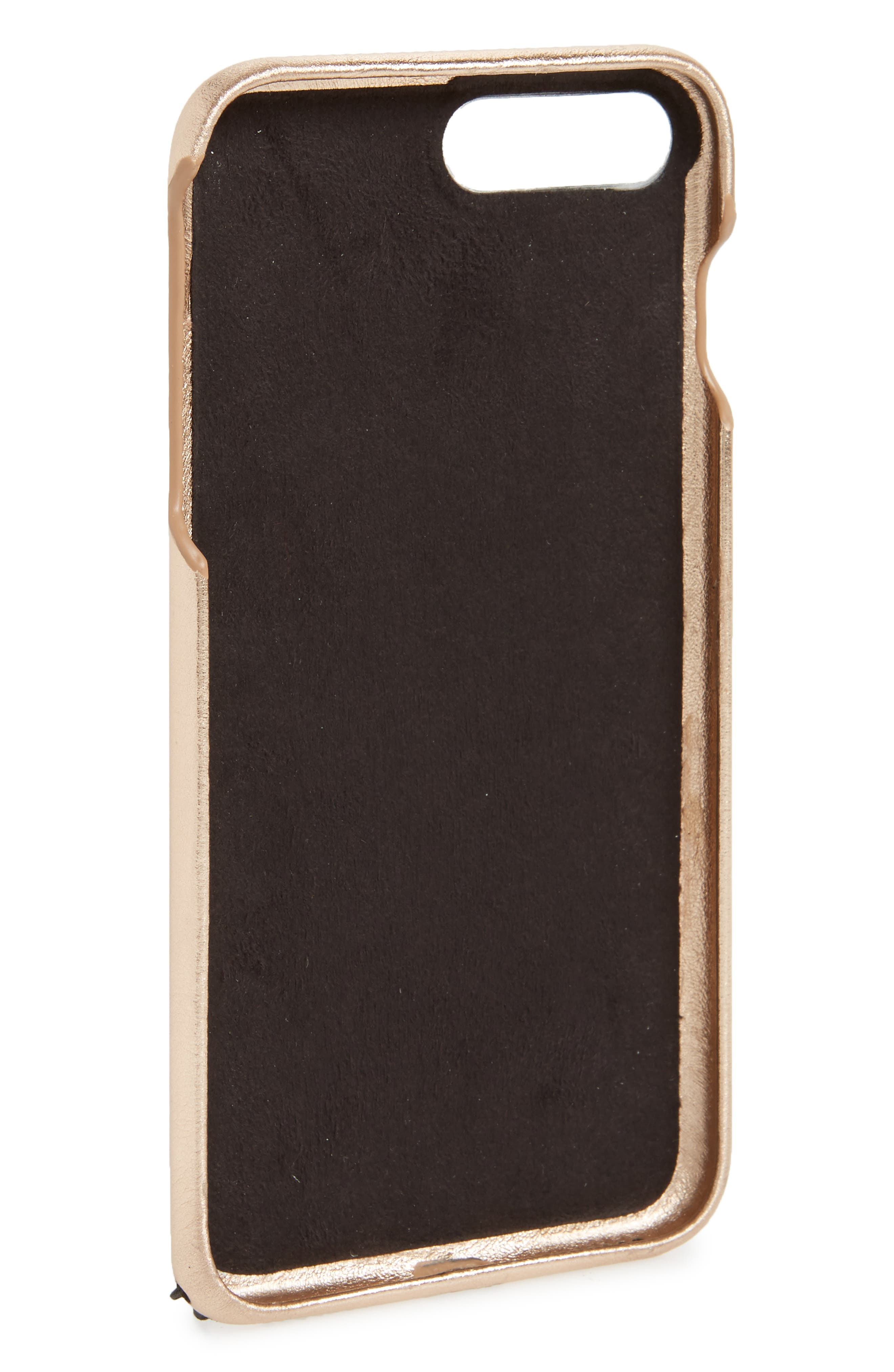 iPhone 7/8 & 7/8 Plus Leather Folio,                             Alternate thumbnail 2, color,                             650