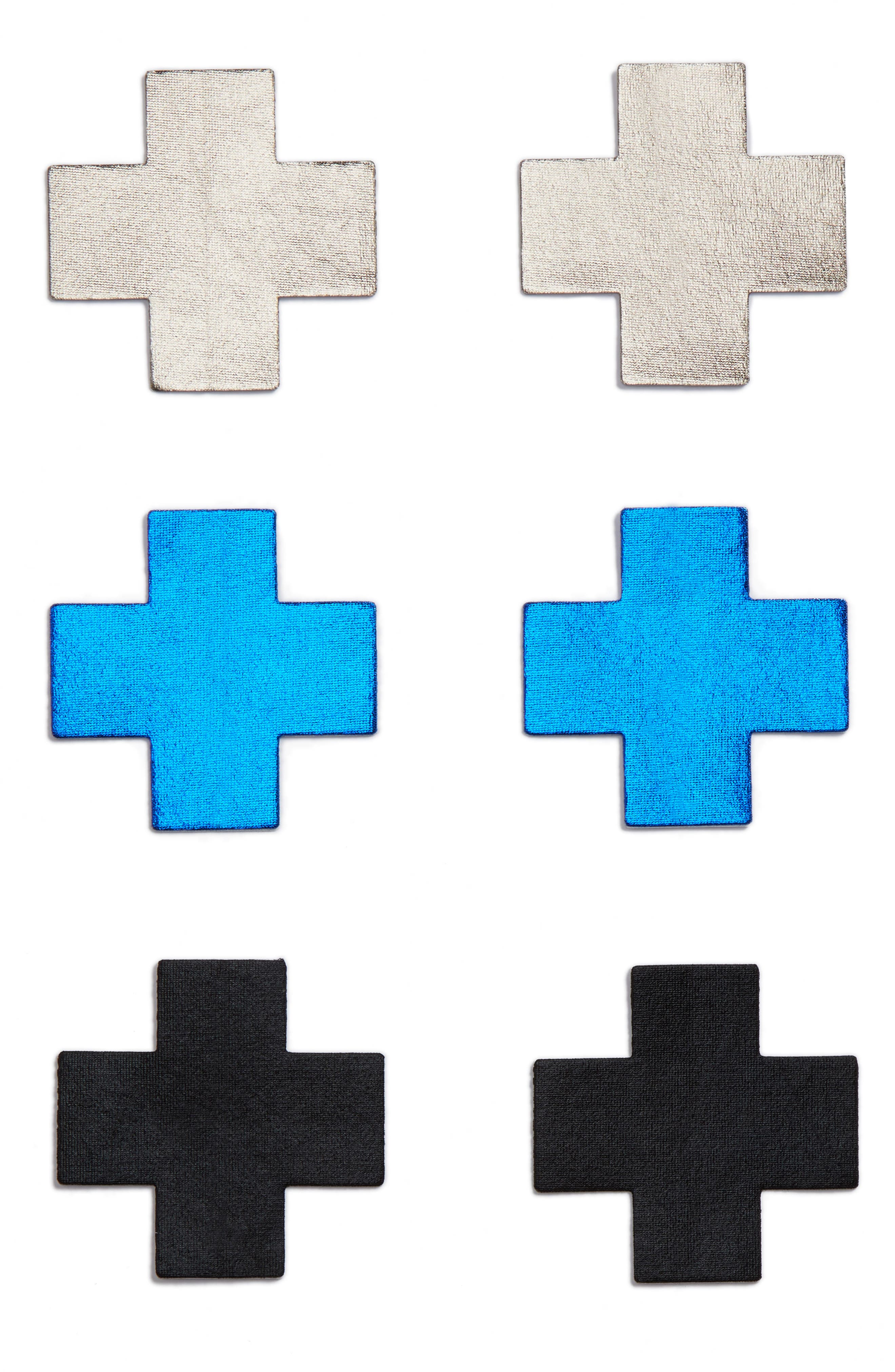 3-Pack Cross Nipple Covers,                         Main,                         color, 400