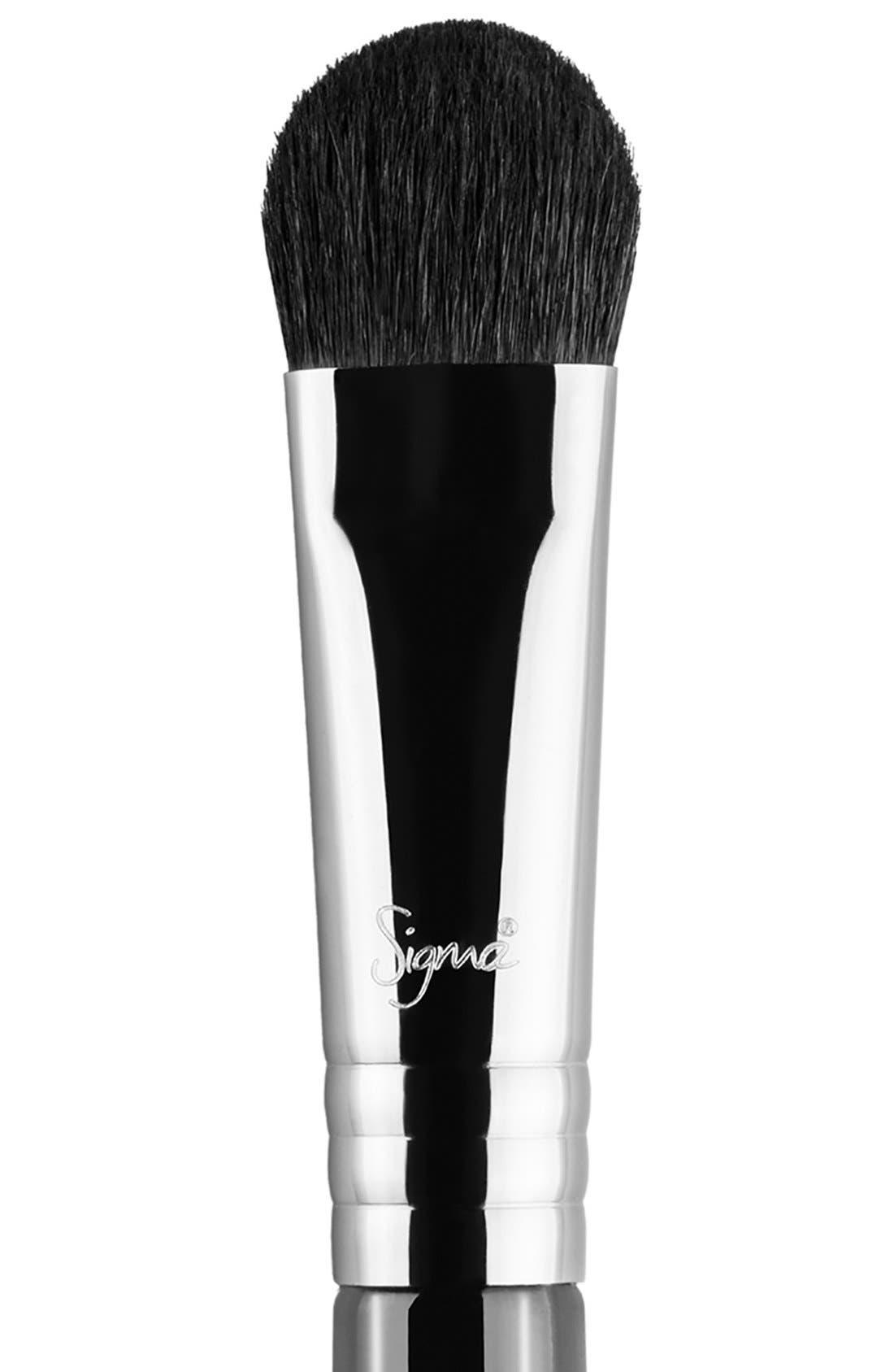 E50 Large Fluff Brush,                             Alternate thumbnail 2, color,                             NO COLOR