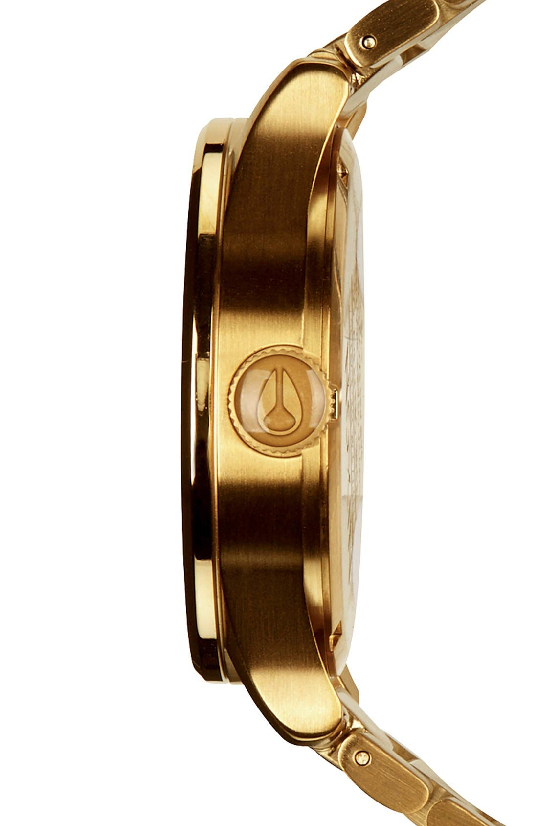 Sentry Bracelet Watch, 42mm,                             Alternate thumbnail 2, color,                             GOLD