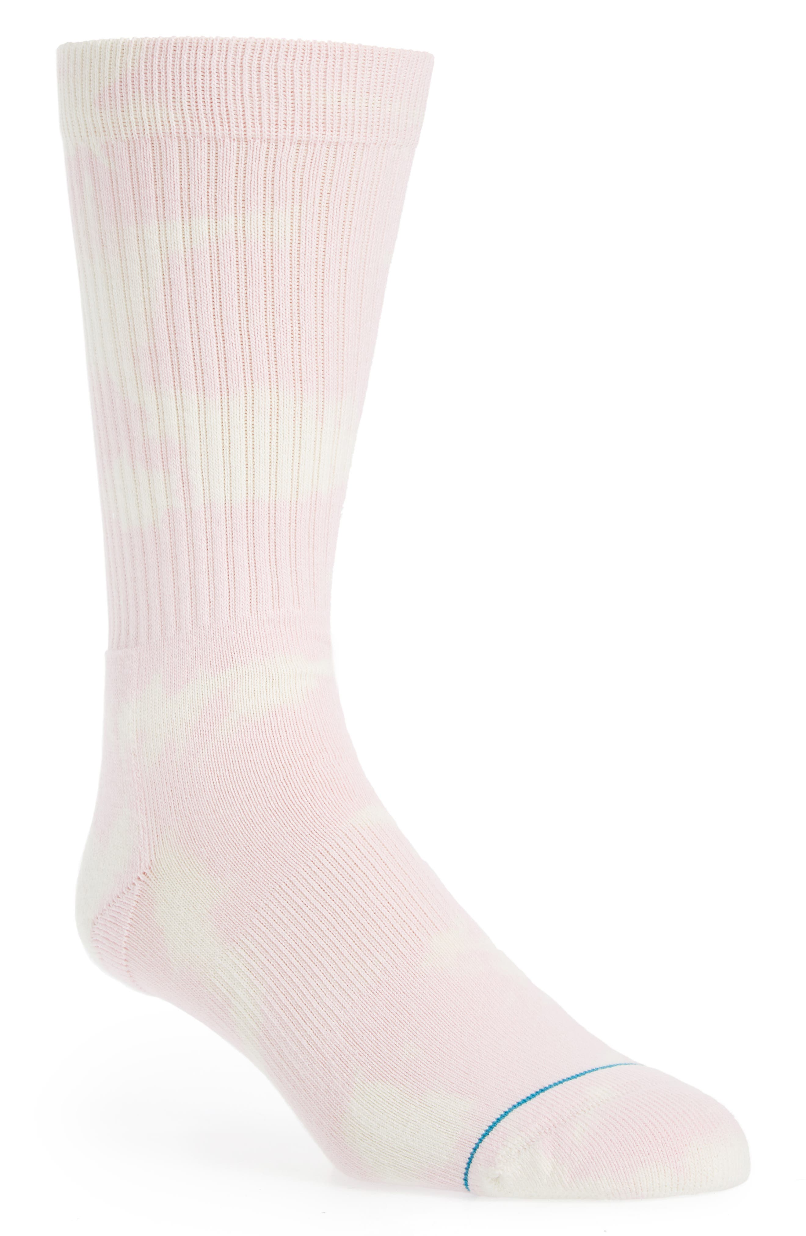 Russell Crew Socks,                             Main thumbnail 1, color,                             PINK