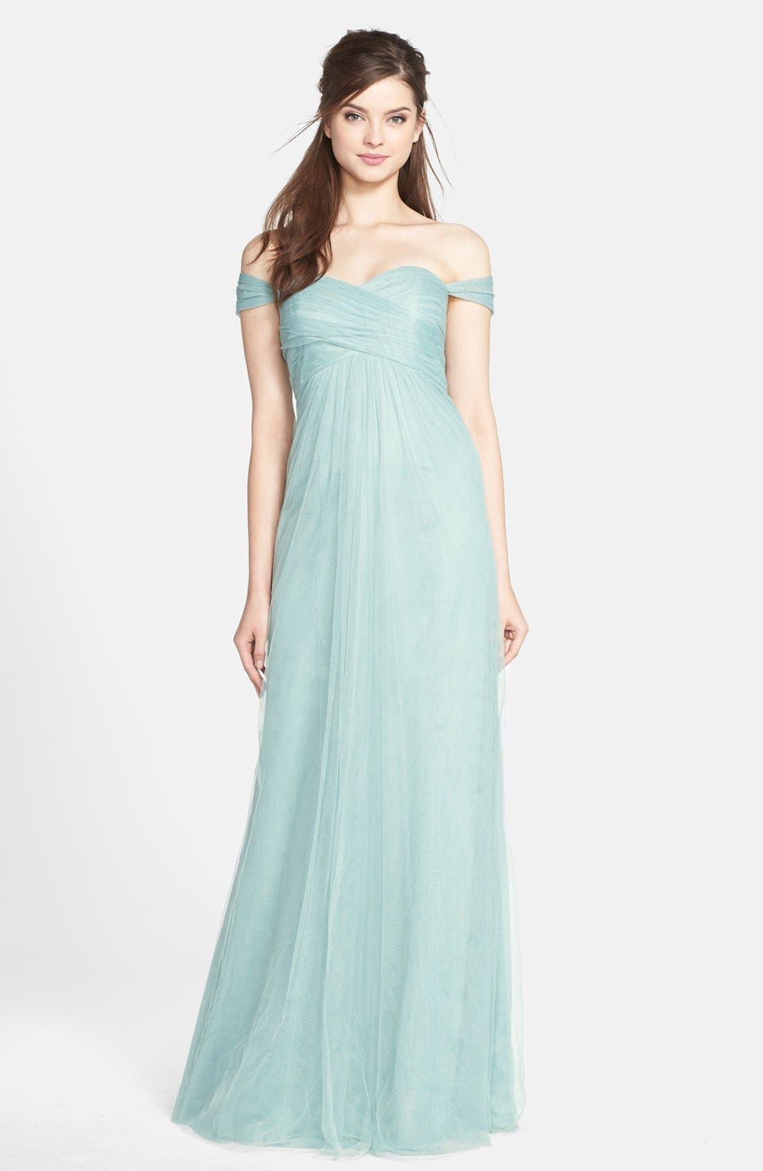 Willow Convertible Tulle Gown,                             Alternate thumbnail 2, color,                             455