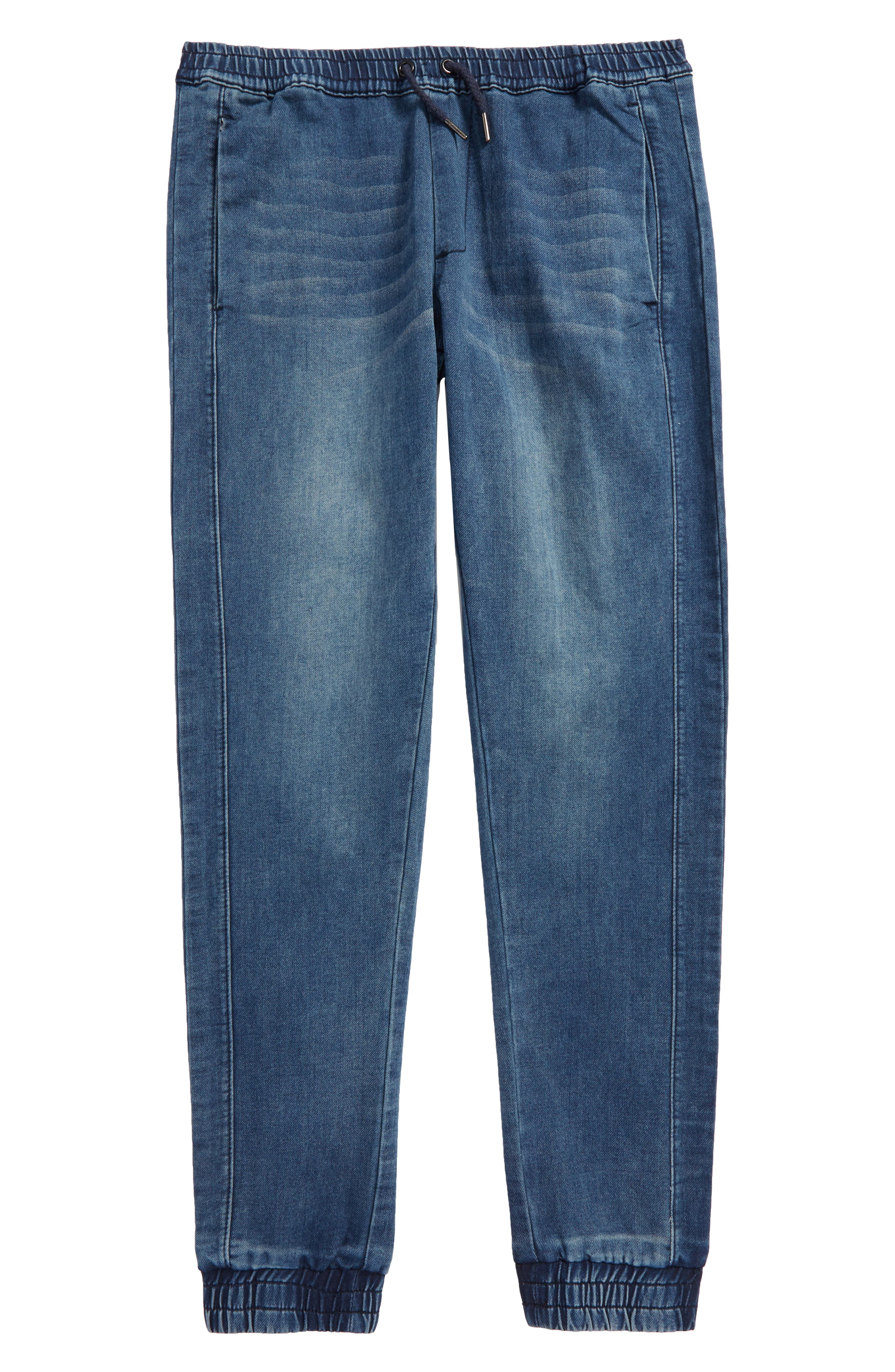 Slim Fit Denim Jogger Pants,                         Main,                         color, 490