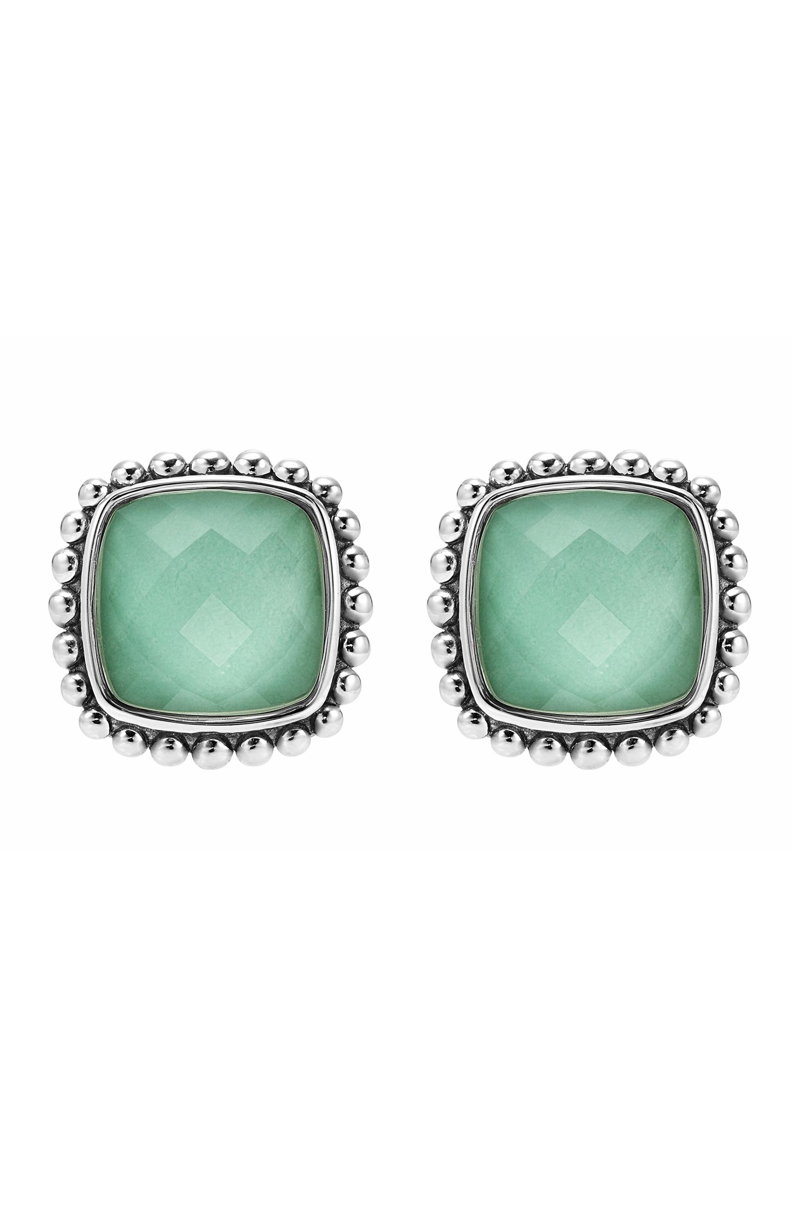 Maya Semiprecious Stone Stud Earrings,                             Alternate thumbnail 2, color,                             330
