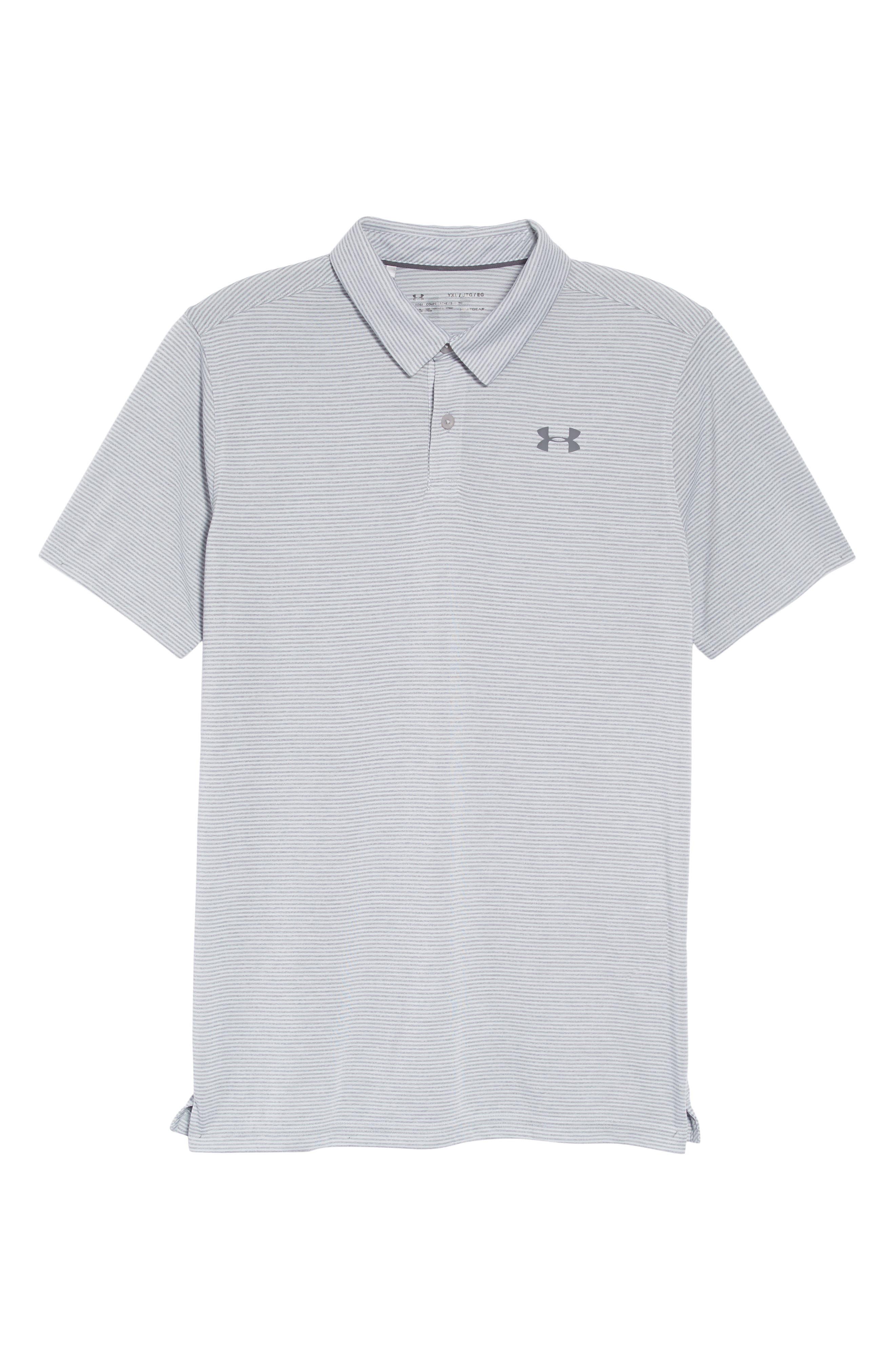 Threadborne Polo,                         Main,                         color, OVERCAST GRAY/ RHINO GRAY