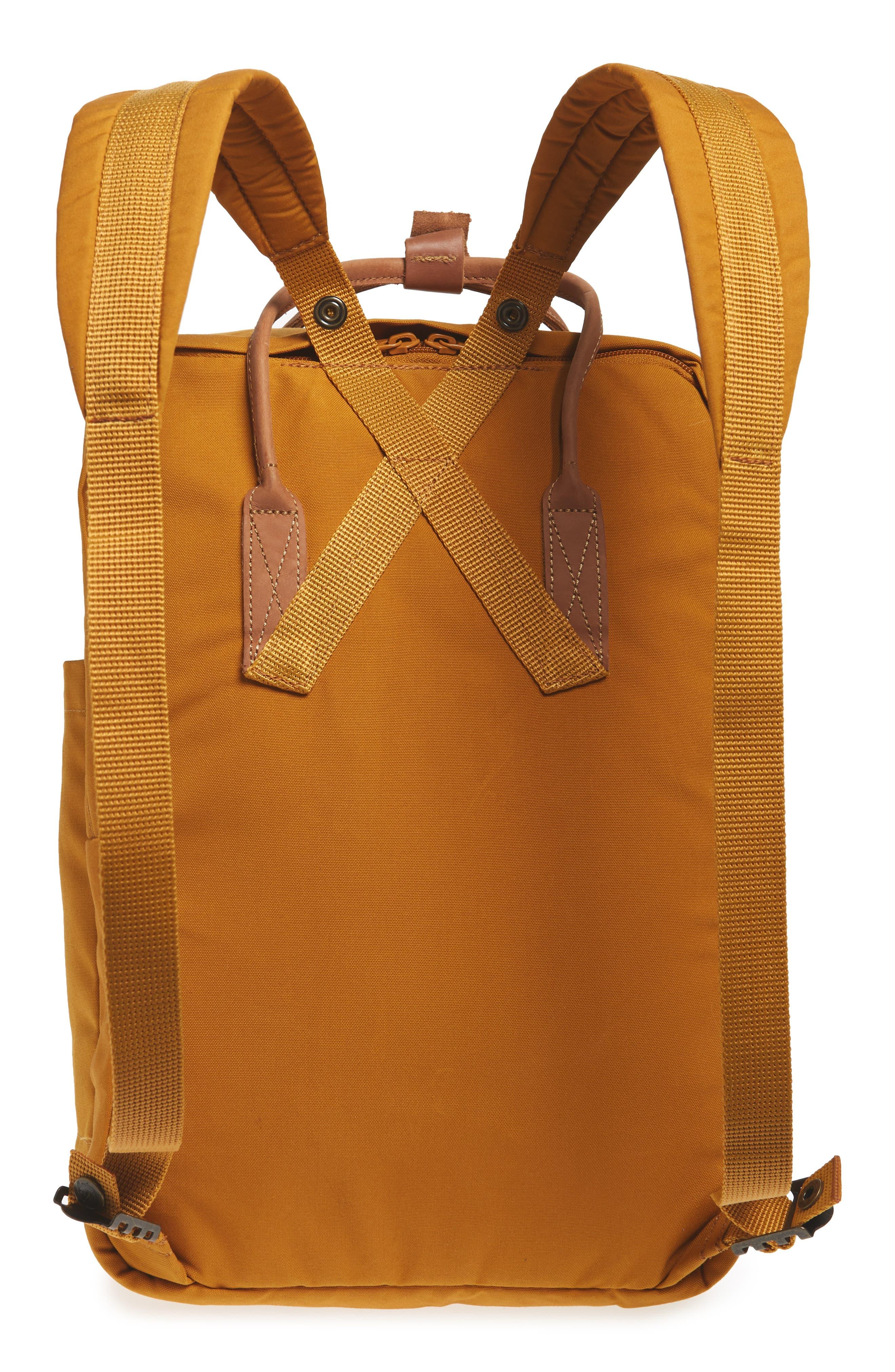 "Kånken No. 2 15"" Laptop Backpack,                             Alternate thumbnail 3, color,                             ACORN"
