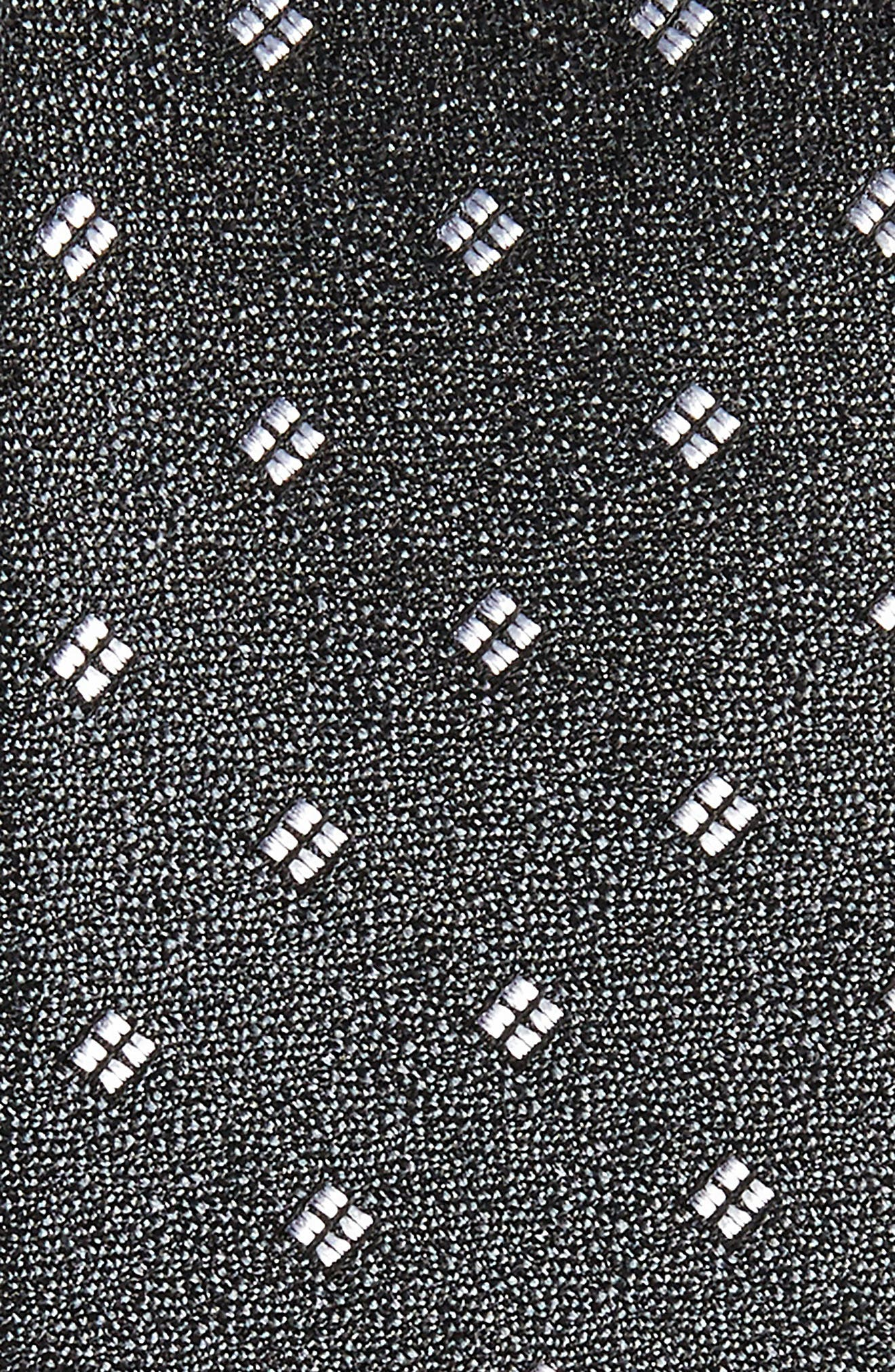 CALIBRATE,                             Moten Neat Silk Skinny Tie,                             Alternate thumbnail 2, color,                             001