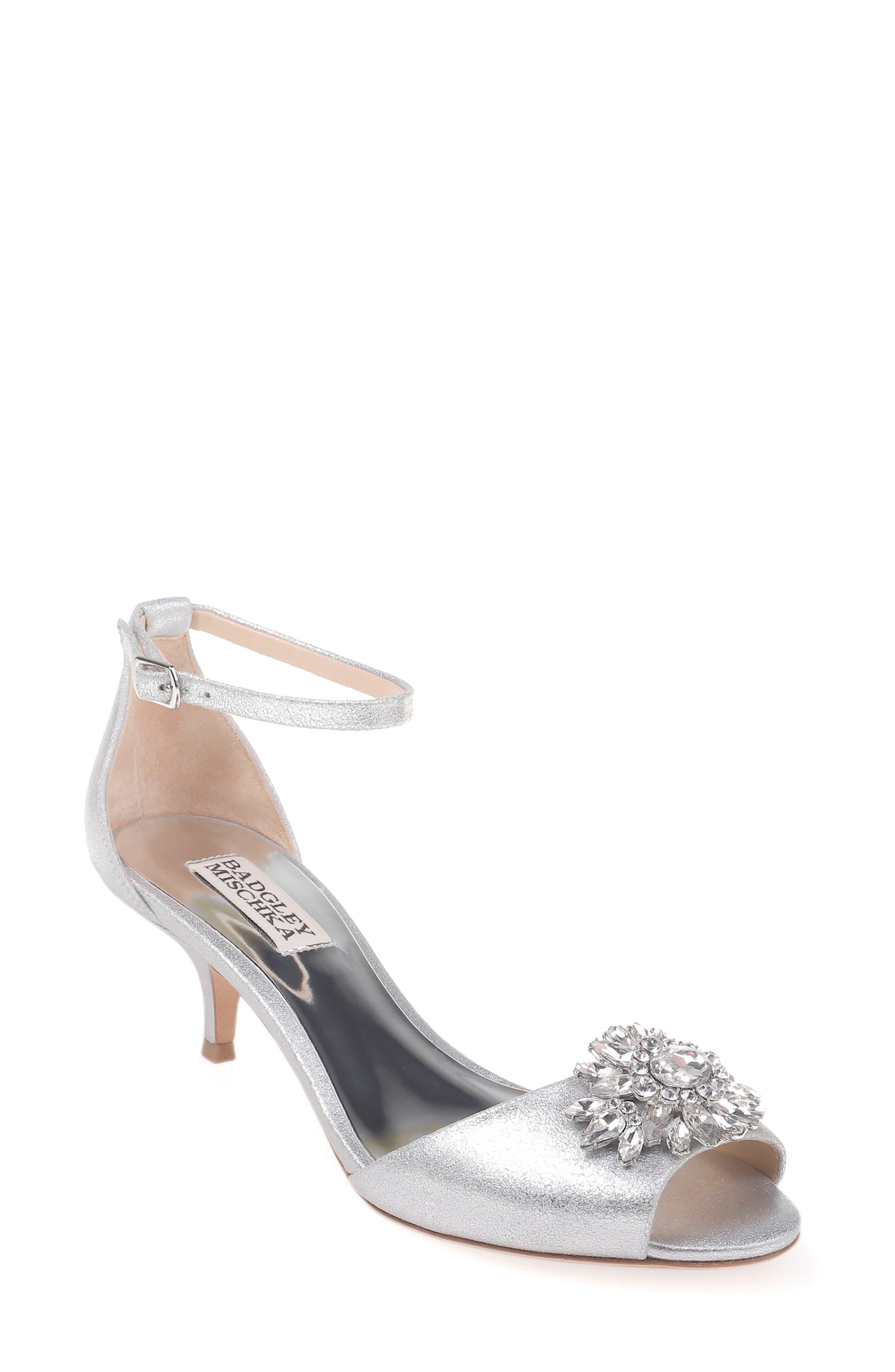 Sainte Crystal Embellished Sandal,                         Main,                         color,