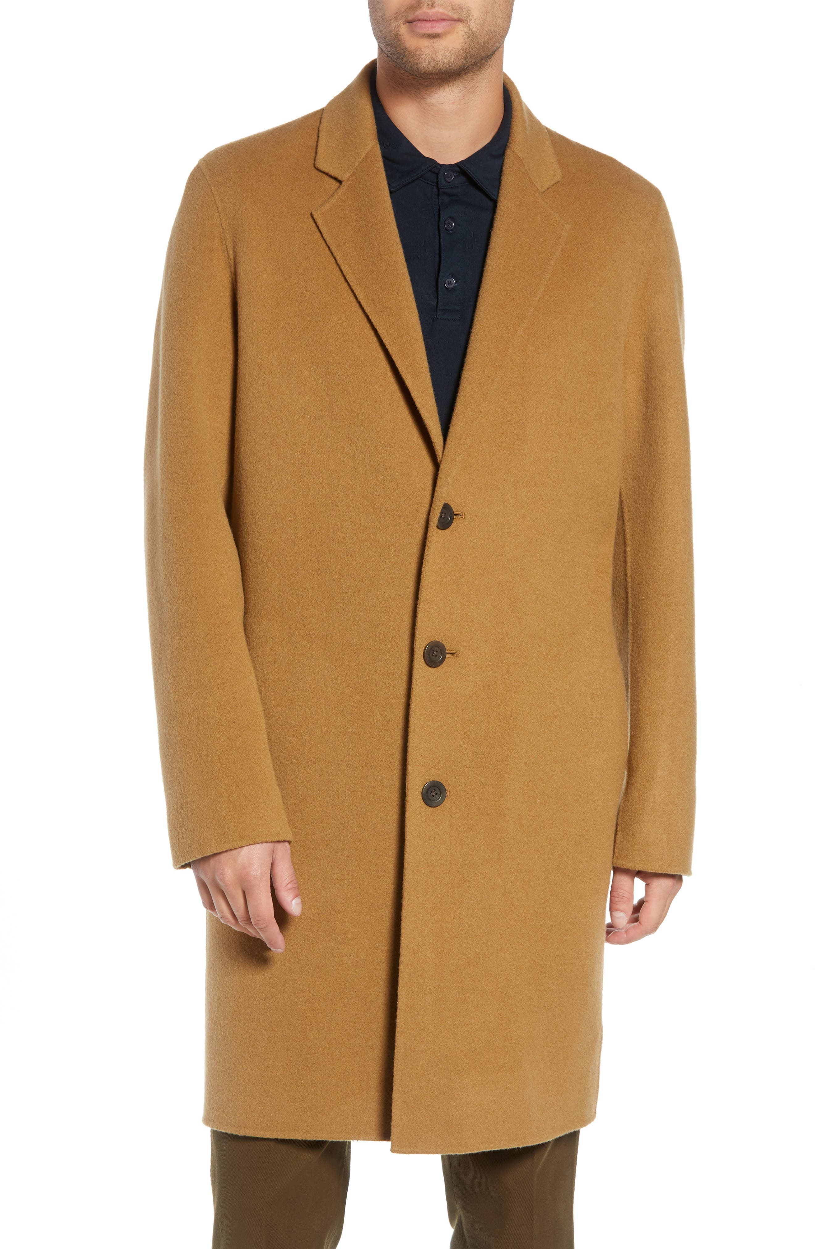 Wool Blend Car Coat,                             Alternate thumbnail 4, color,                             263