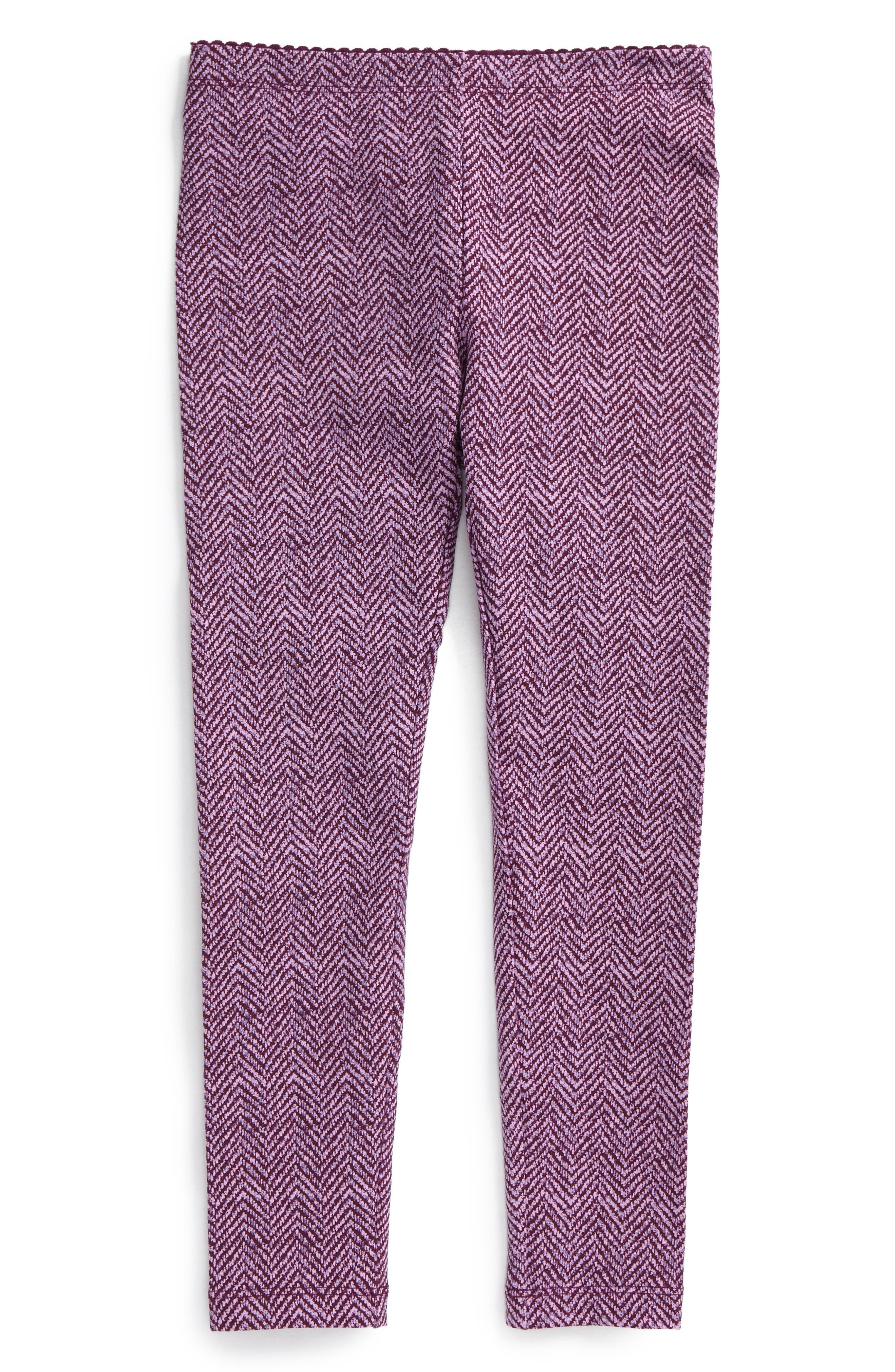 Tweed Print Leggings,                             Main thumbnail 2, color,