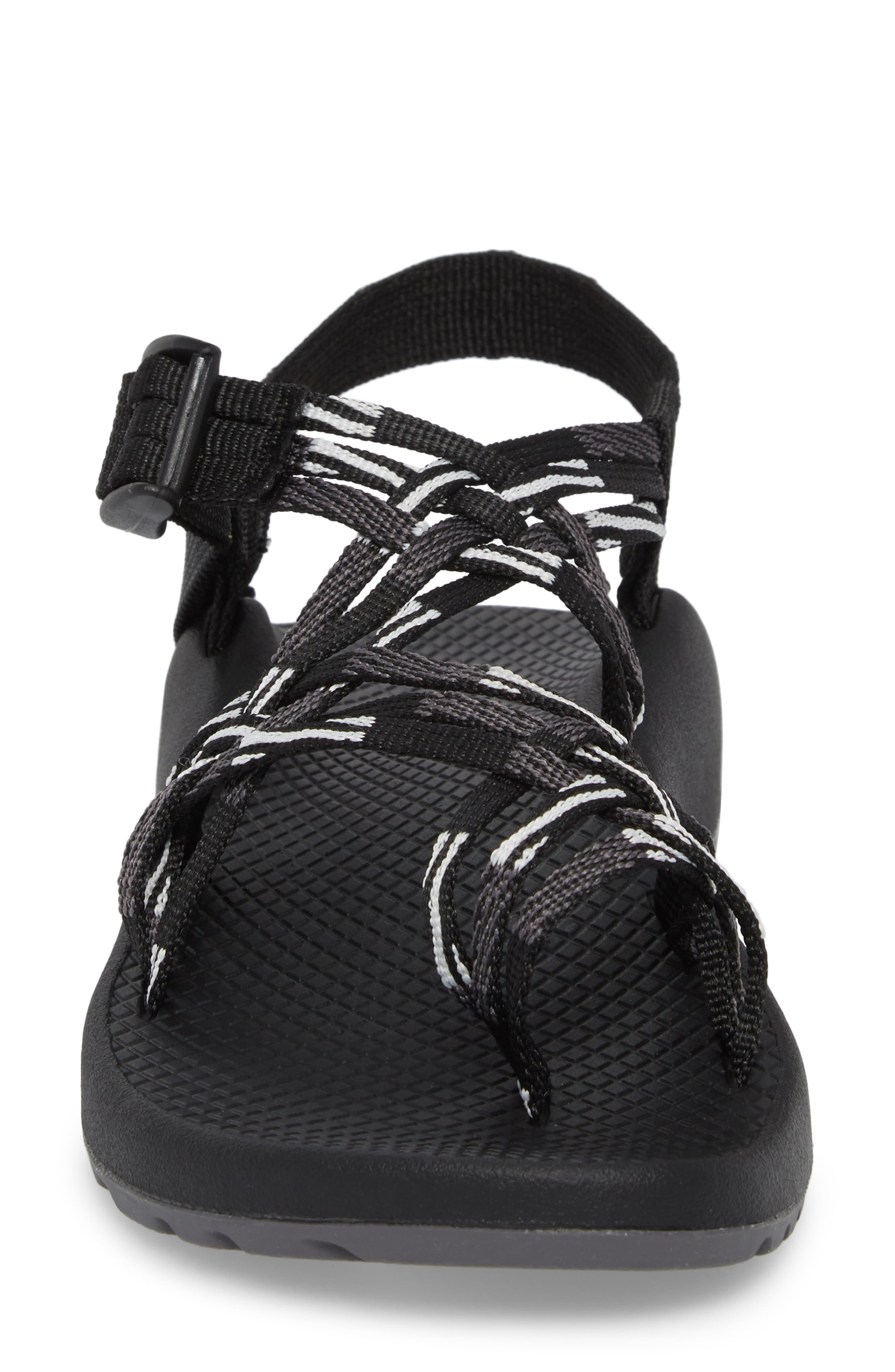 ZX/3<sup>®</sup> Classic Sandal,                             Alternate thumbnail 4, color,                             SCATTER BLACK / WHITE