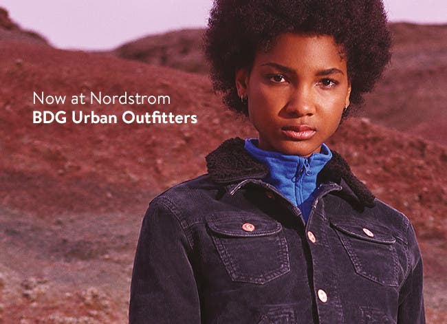 Now at Nordstrom: BDG Urban Outfitters women's clothing.