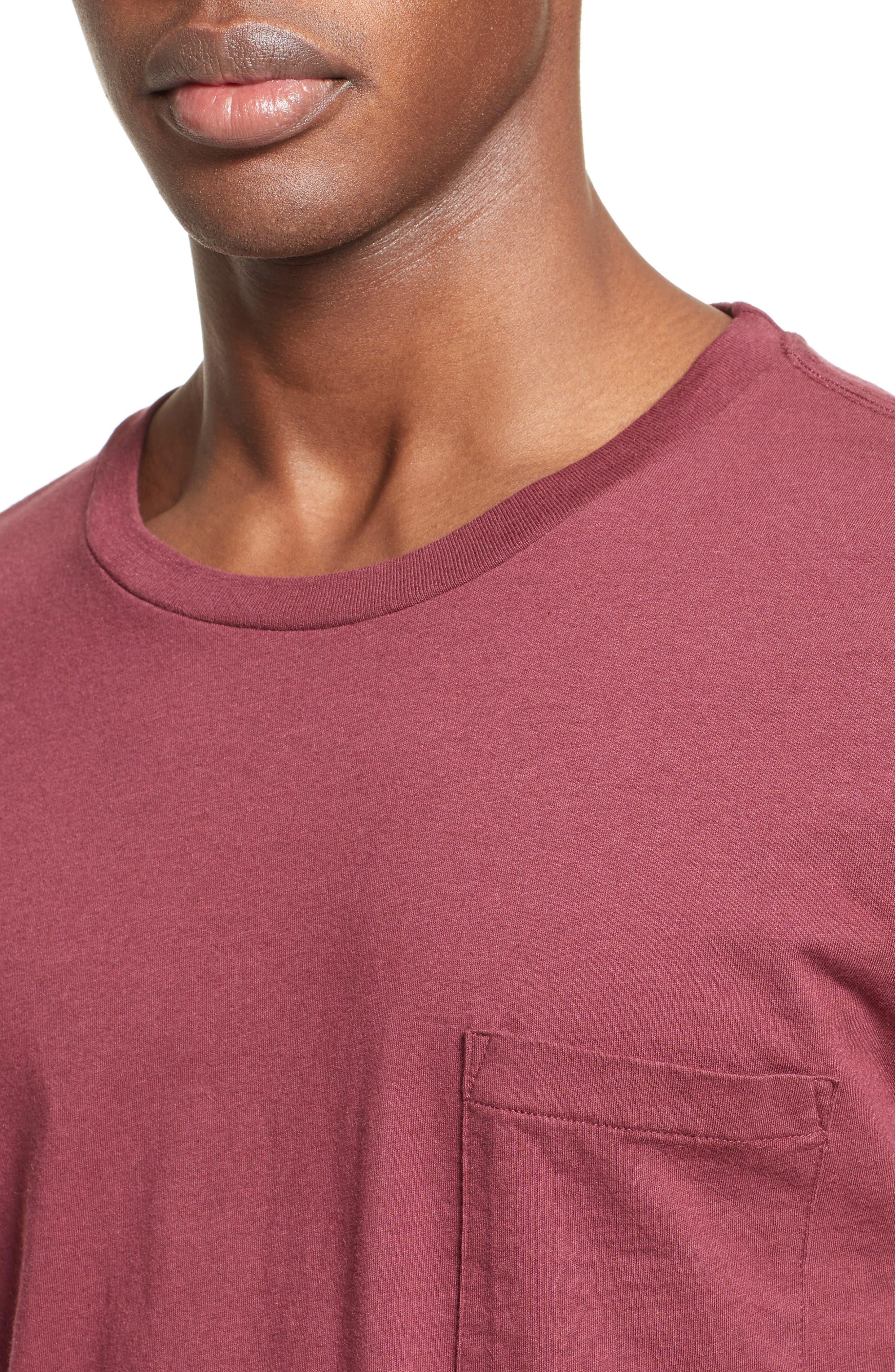 Pocket T-Shirt,                             Alternate thumbnail 4, color,                             600