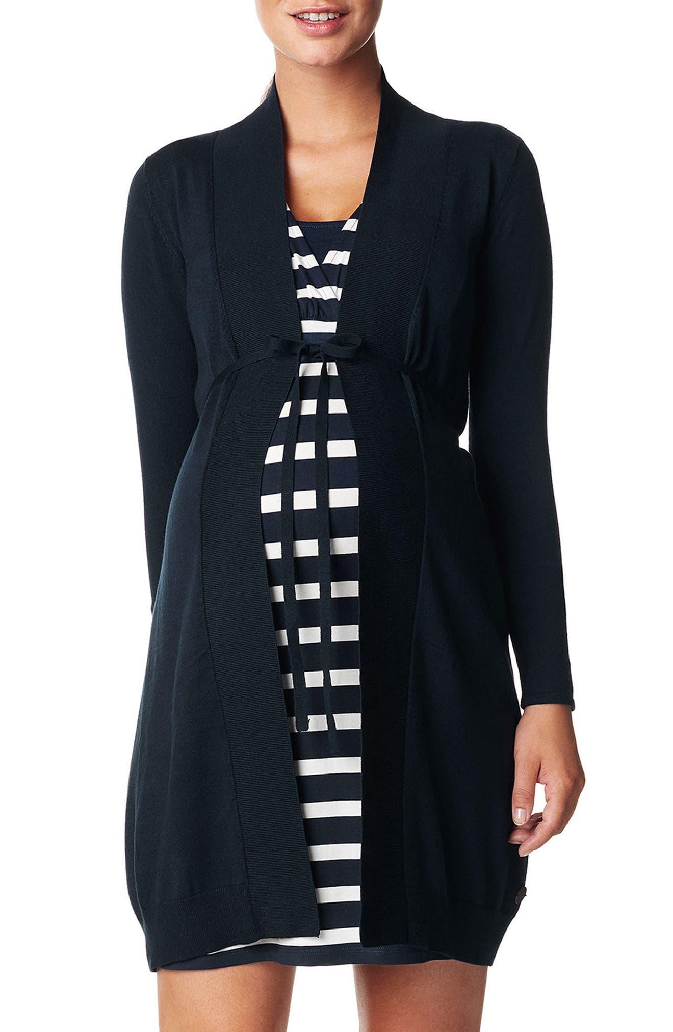 Jessi Knit Cardigan,                         Main,                         color, BLACK