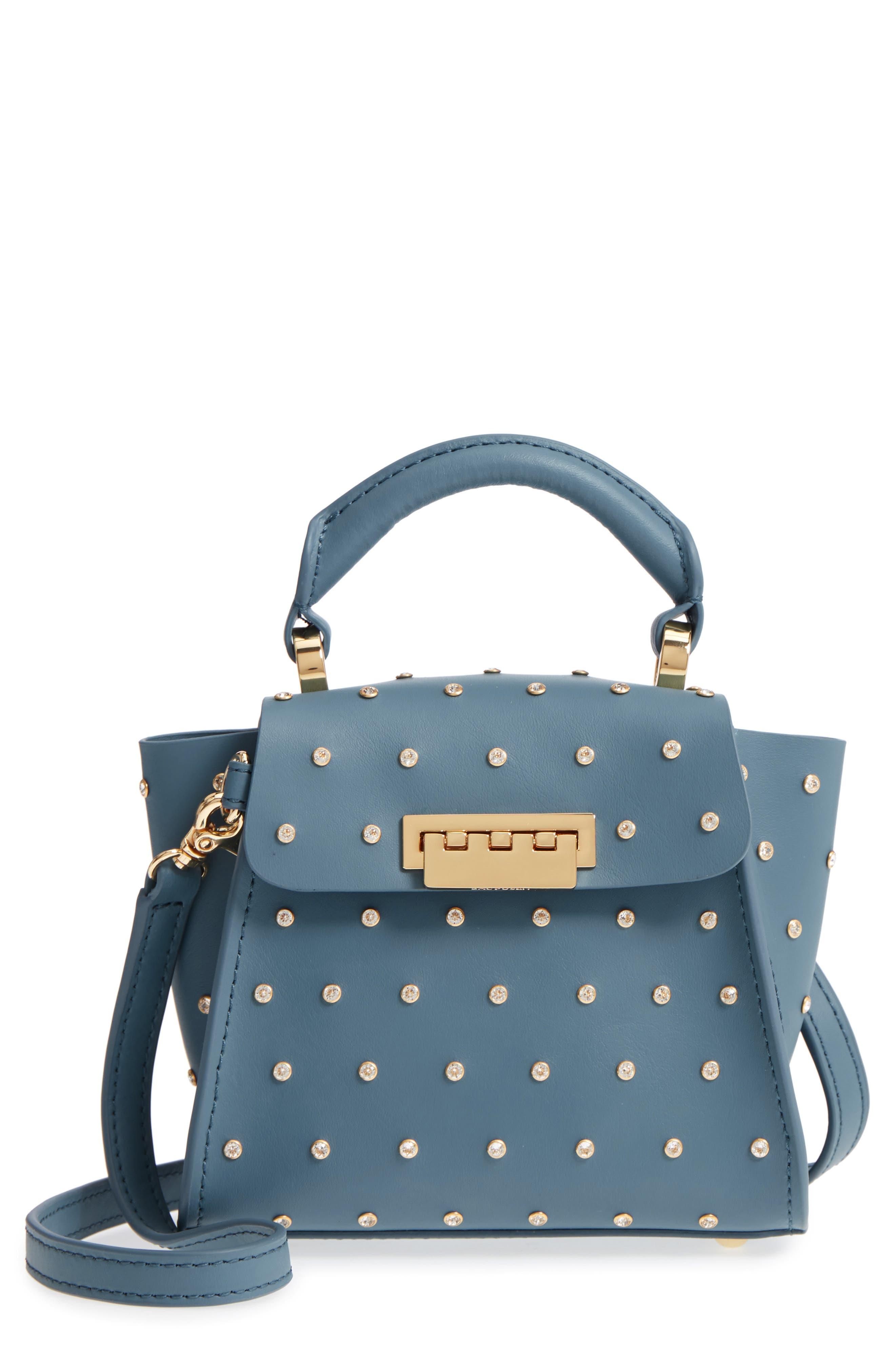 Mini Eartha Crystal Top Handle Bag,                             Main thumbnail 1, color,                             420