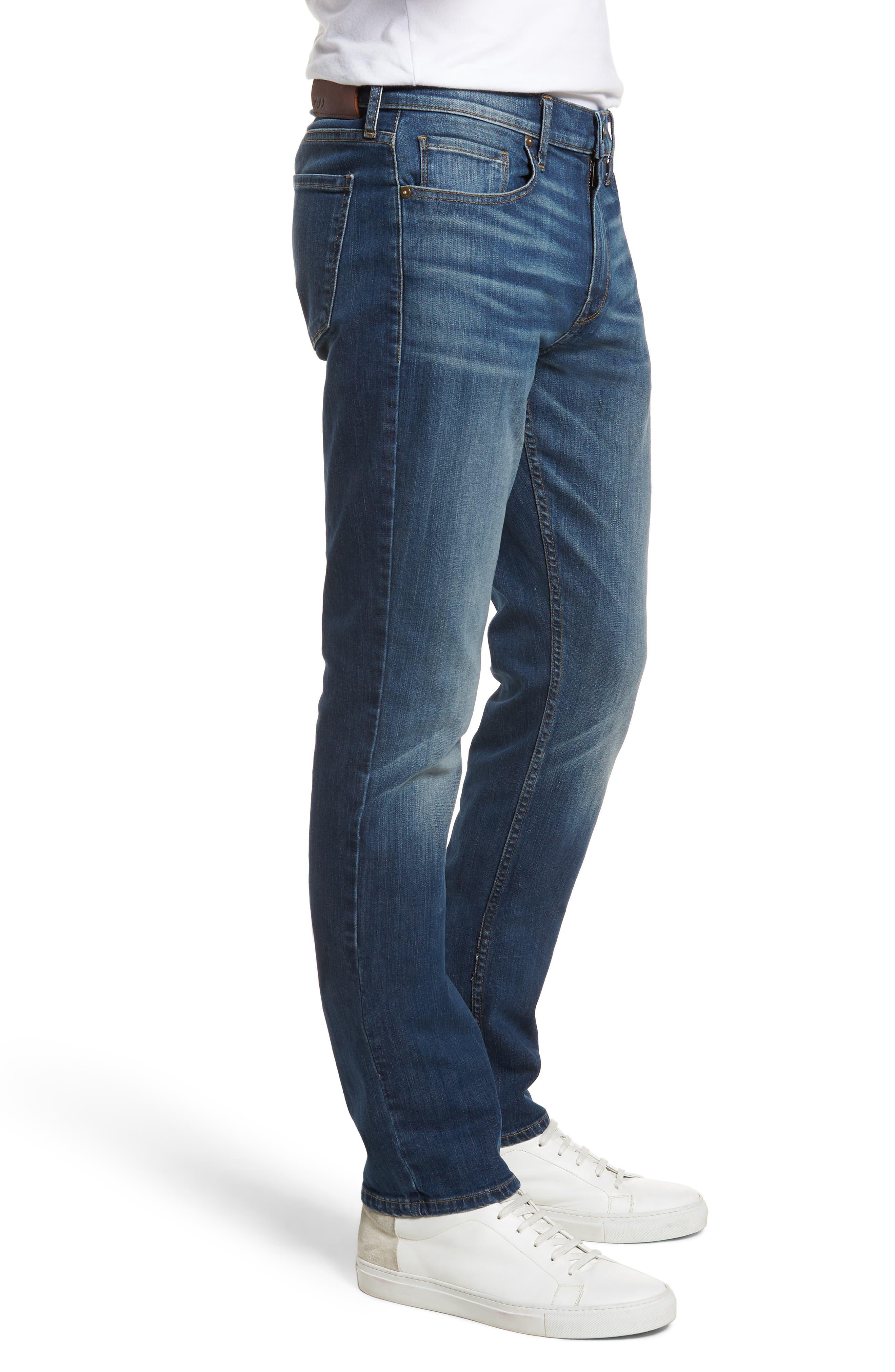 Federal Slim Straight Leg Jeans,                             Alternate thumbnail 3, color,                             HARLAN