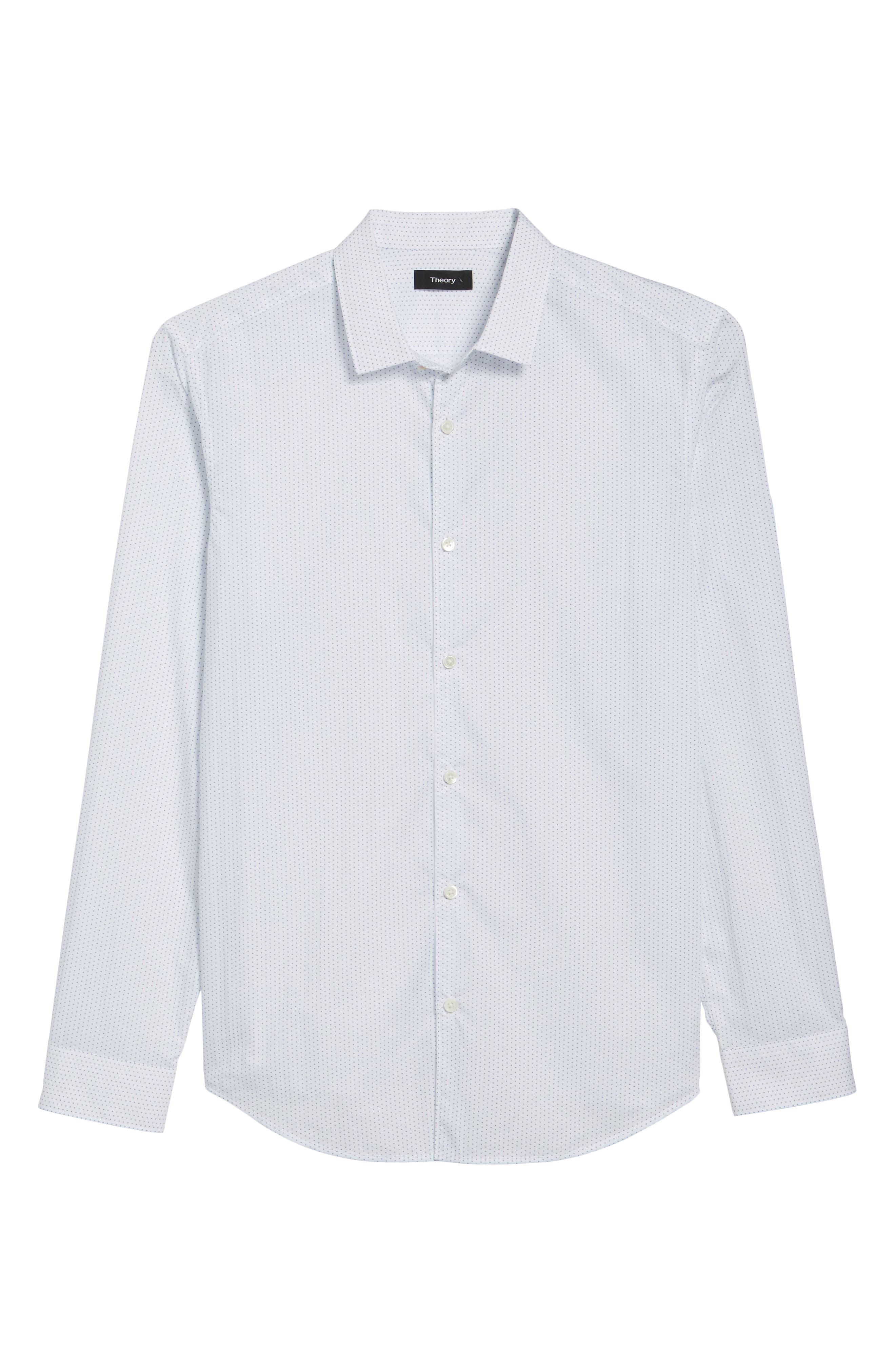 Murray Slim Fit Sport Shirt,                             Alternate thumbnail 6, color,                             100