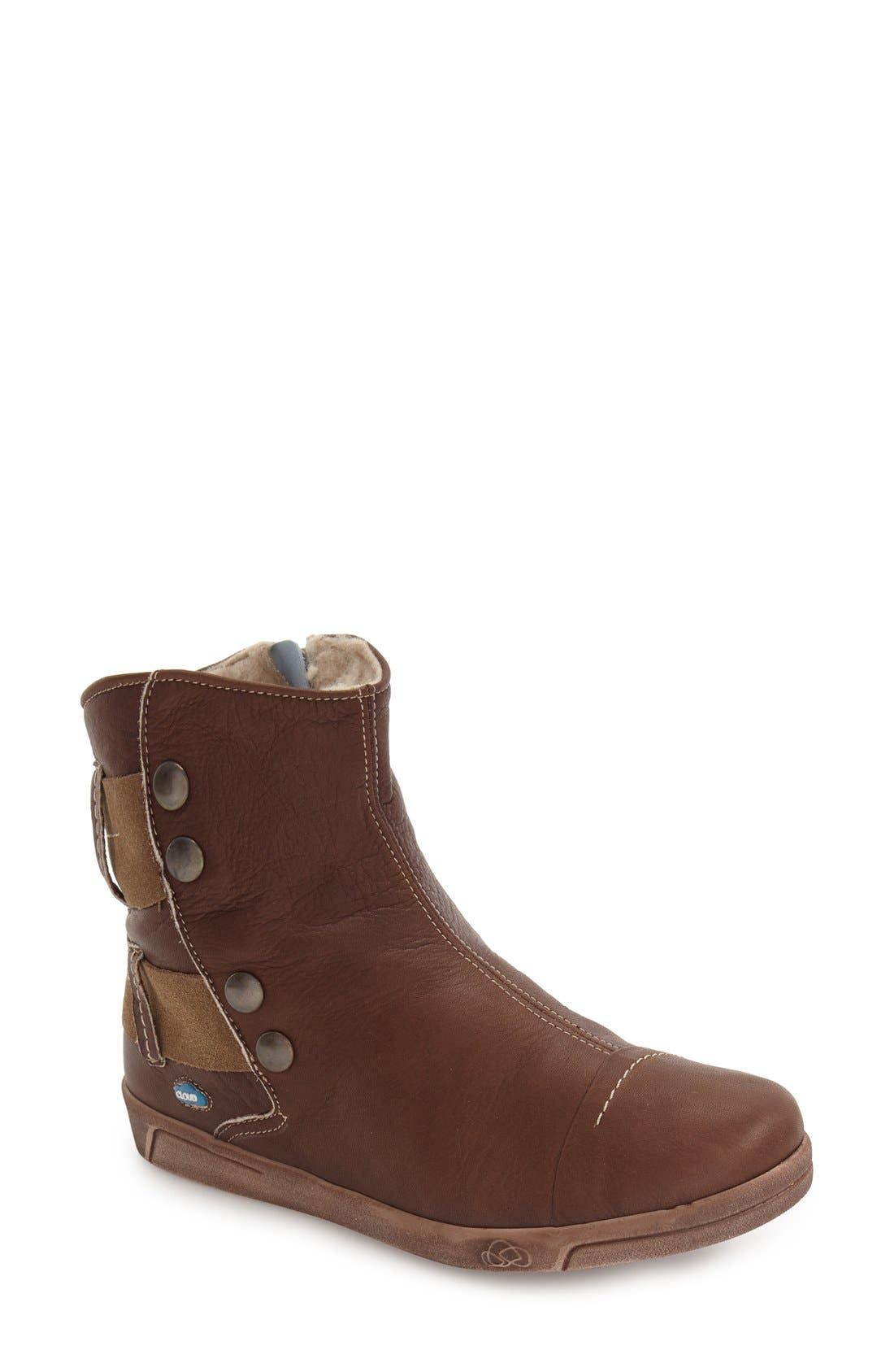 Cloud Aline Fantasy Shearling Lined Boot - Brown