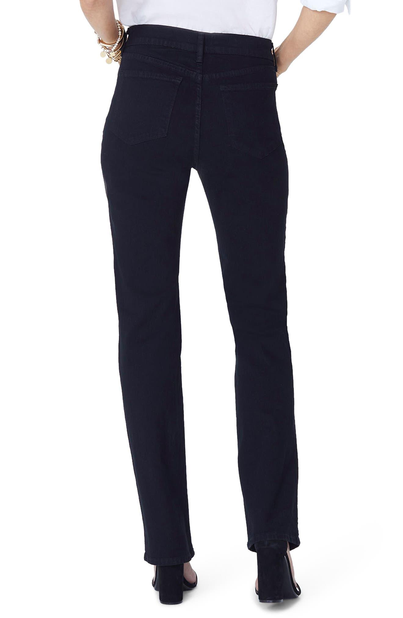 Marilyn Straight Jeans,                             Alternate thumbnail 4, color,