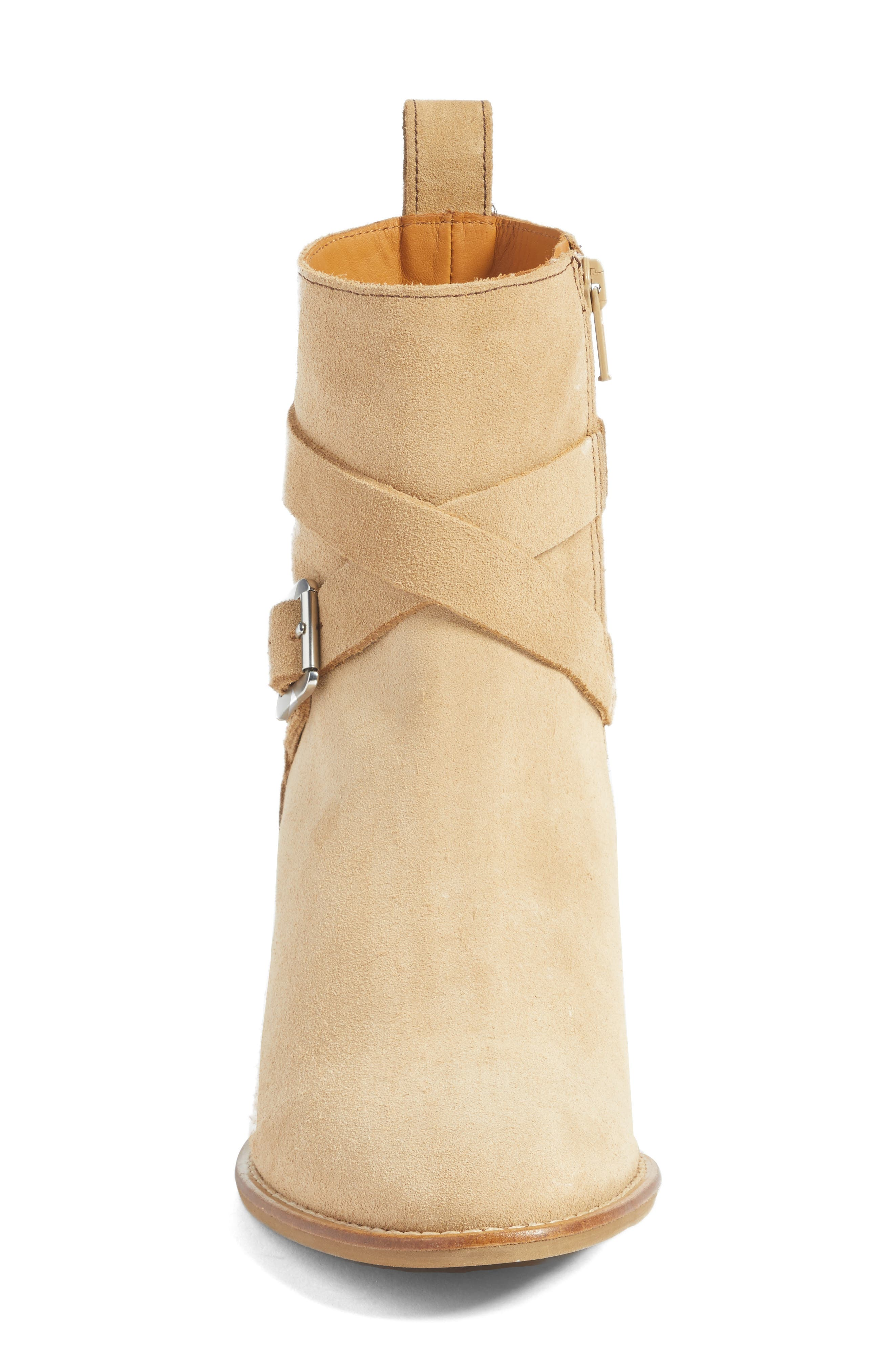 Refined Water Resistant Strappy Boot,                             Alternate thumbnail 8, color,