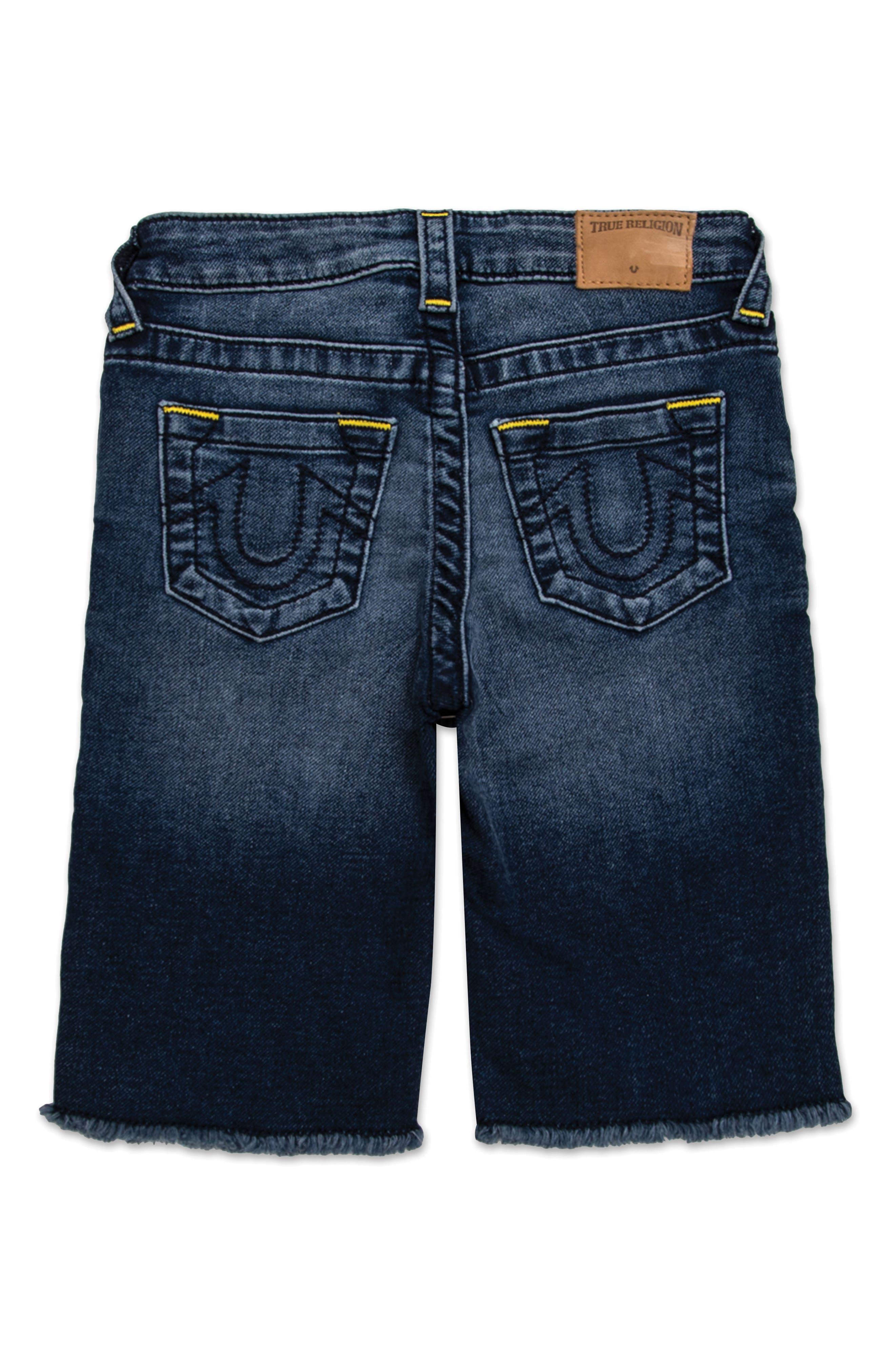 Geno French Terry Cutoff Shorts,                         Main,                         color, 470