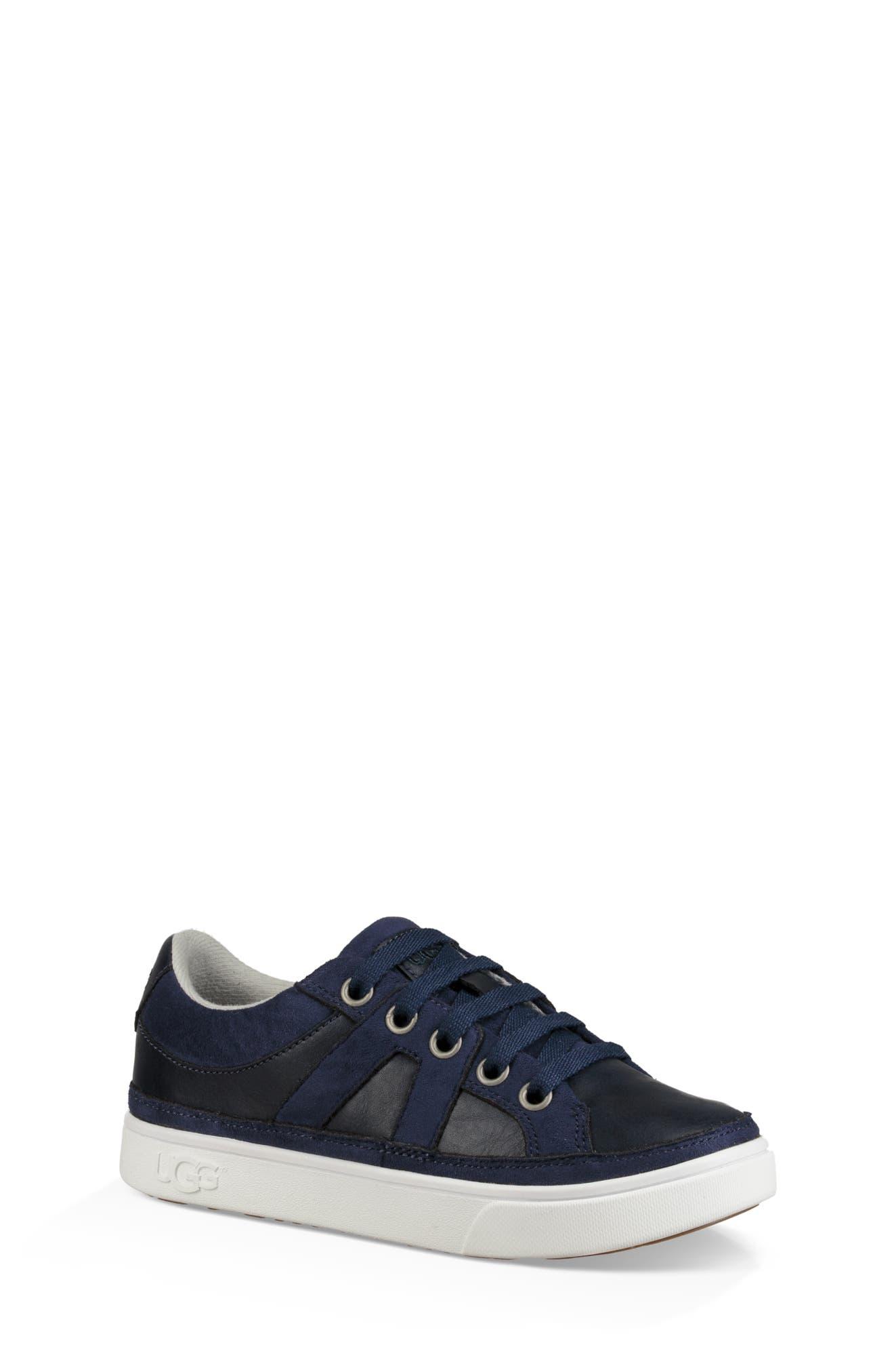 Marcus Sneaker,                             Main thumbnail 1, color,                             NAVY
