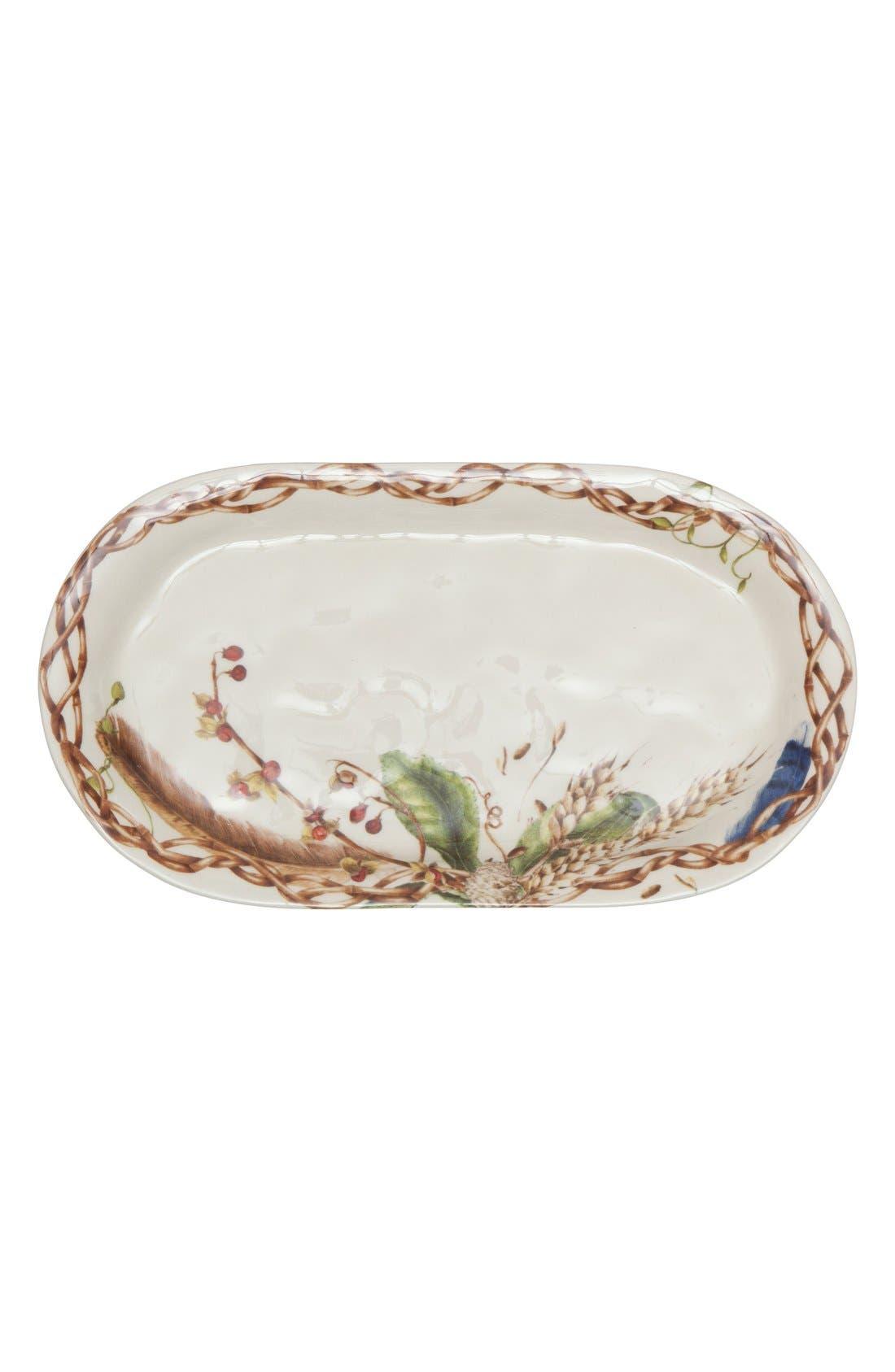 Forest Walk Ceramic Hostess Tray,                             Main thumbnail 1, color,                             250
