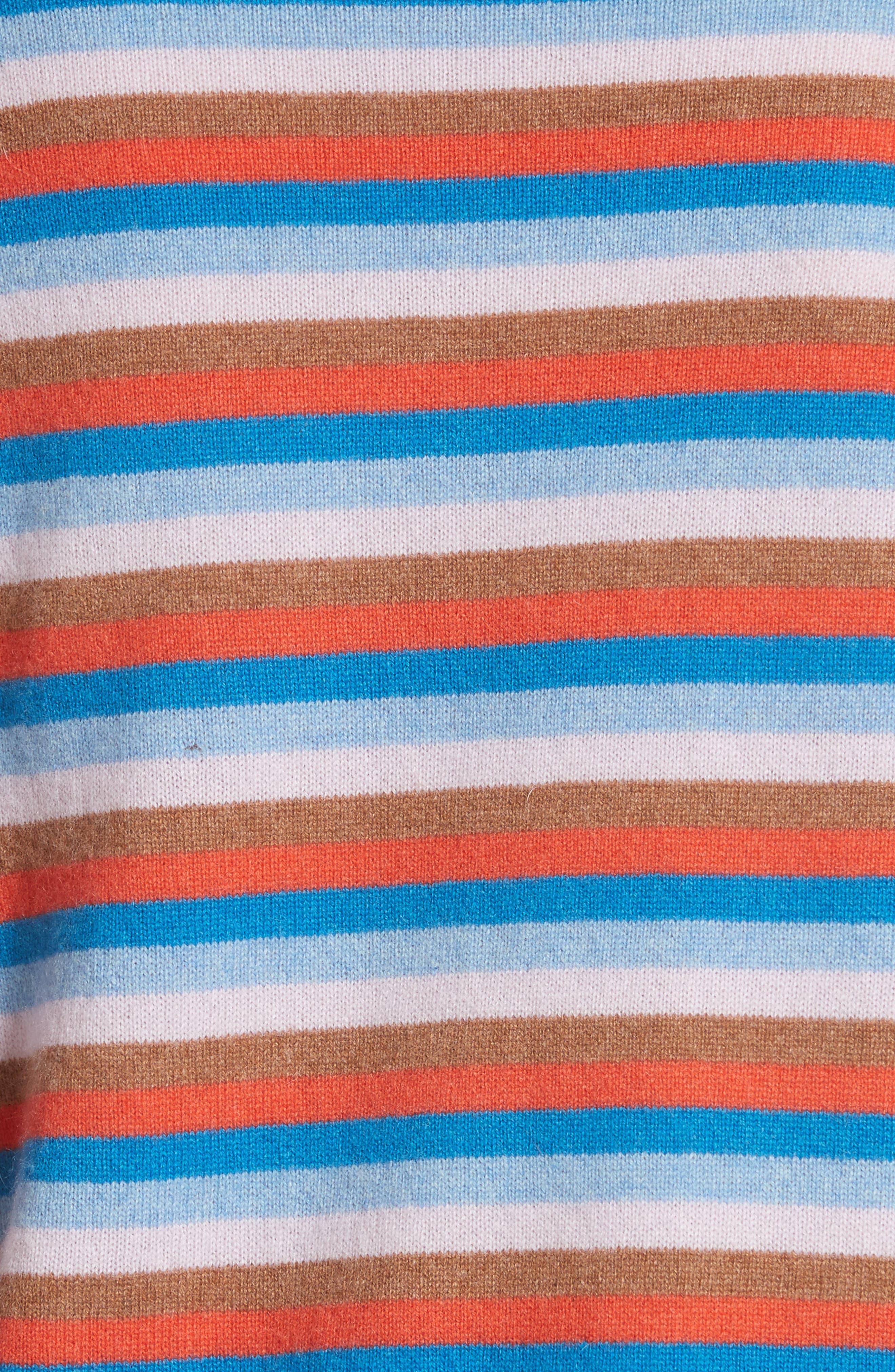The Raven Cashmere Sweater,                             Alternate thumbnail 5, color,