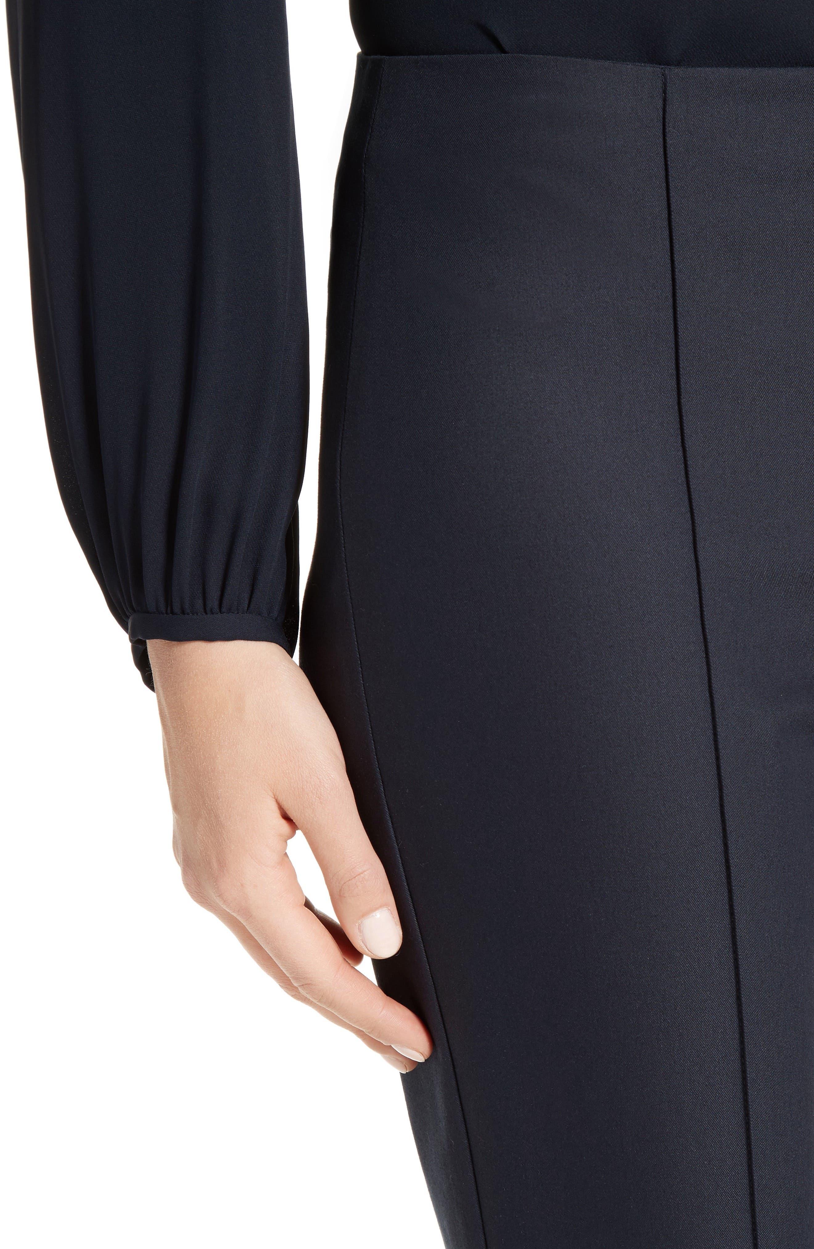 Alettah Stretch Skinny Pants,                             Alternate thumbnail 4, color,                             001