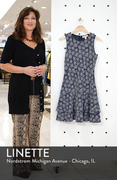 Tiered Fit & Flare Dress, sales video thumbnail