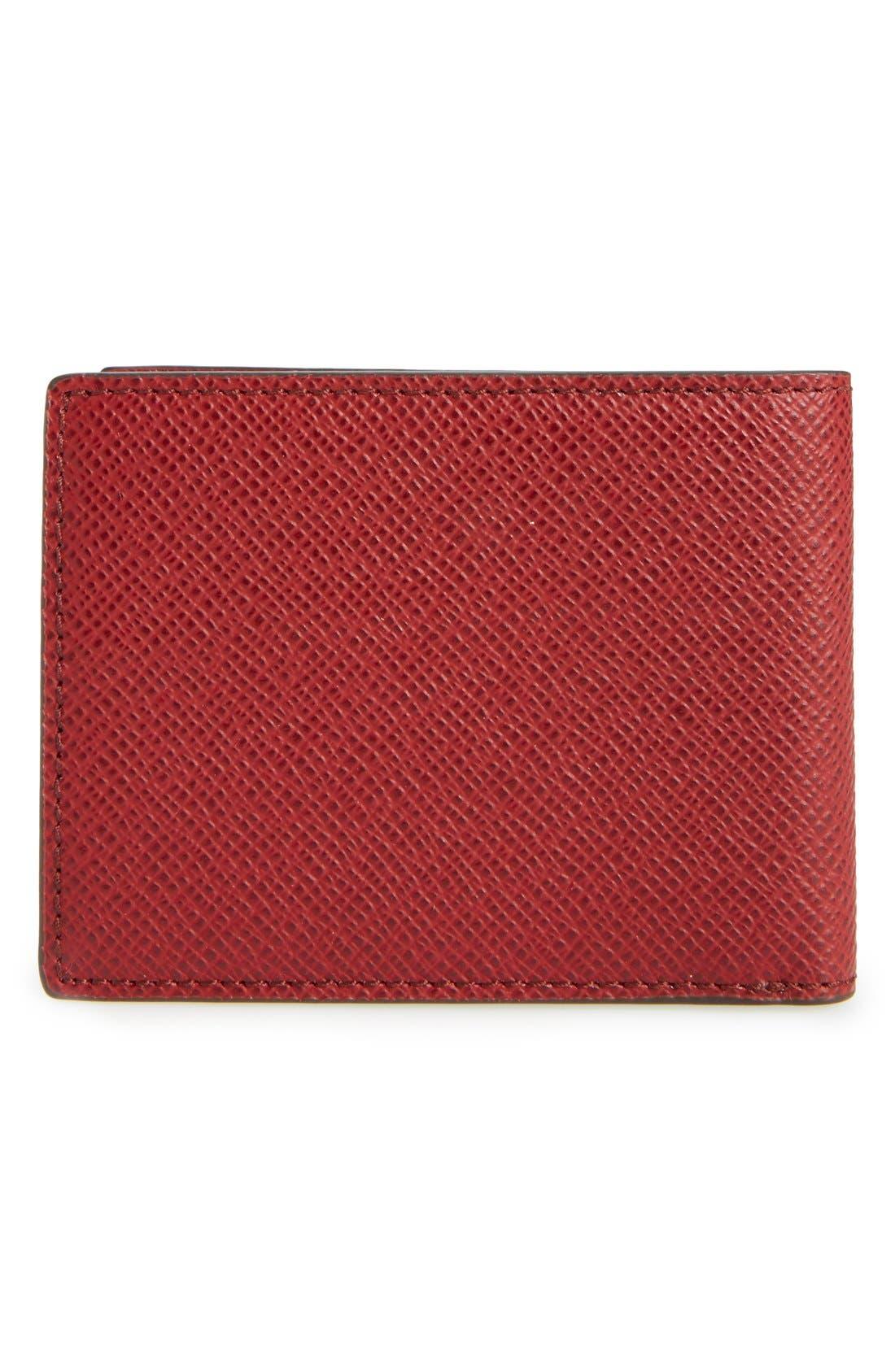 'Signature' Bifold Wallet,                             Alternate thumbnail 8, color,