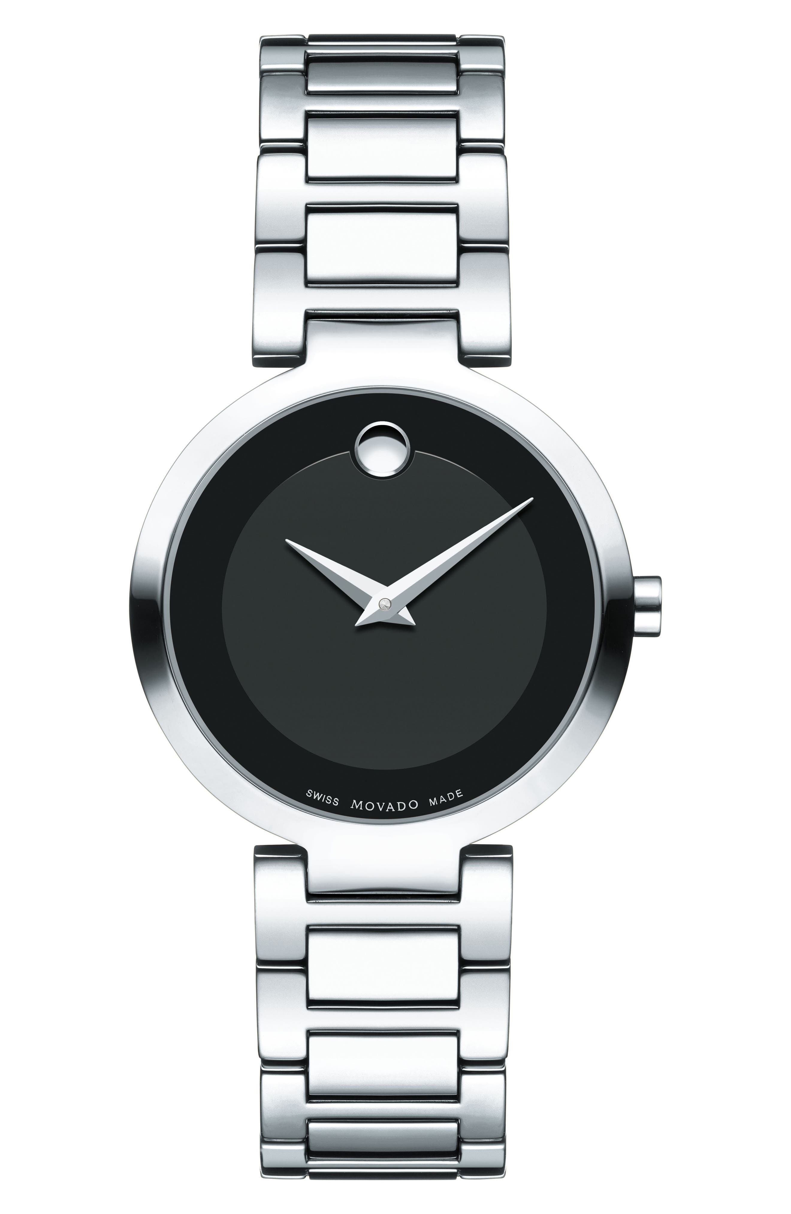 MOVADO,                             Modern Classic Bracelet Watch, 28mm,                             Main thumbnail 1, color,                             040