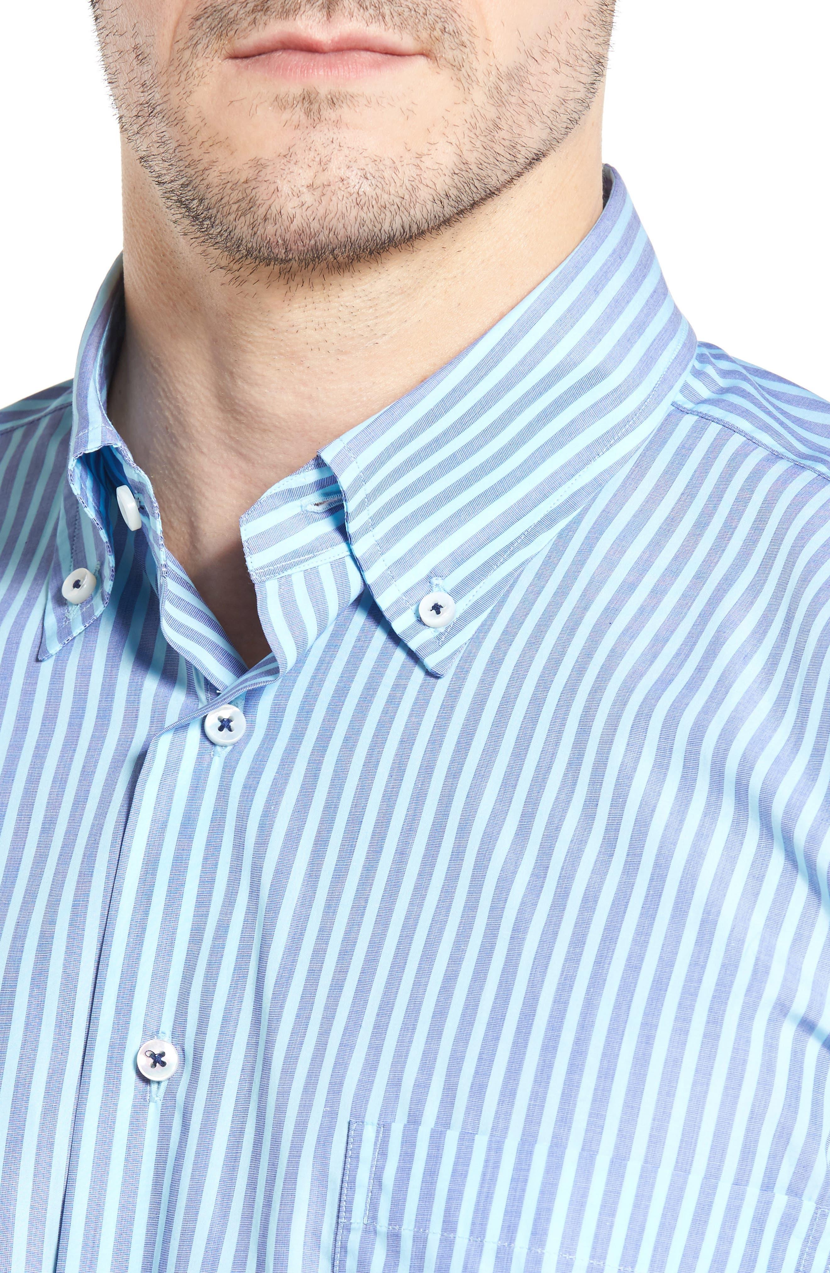 Estate Classic Fit Sport Shirt,                             Alternate thumbnail 4, color,                             401