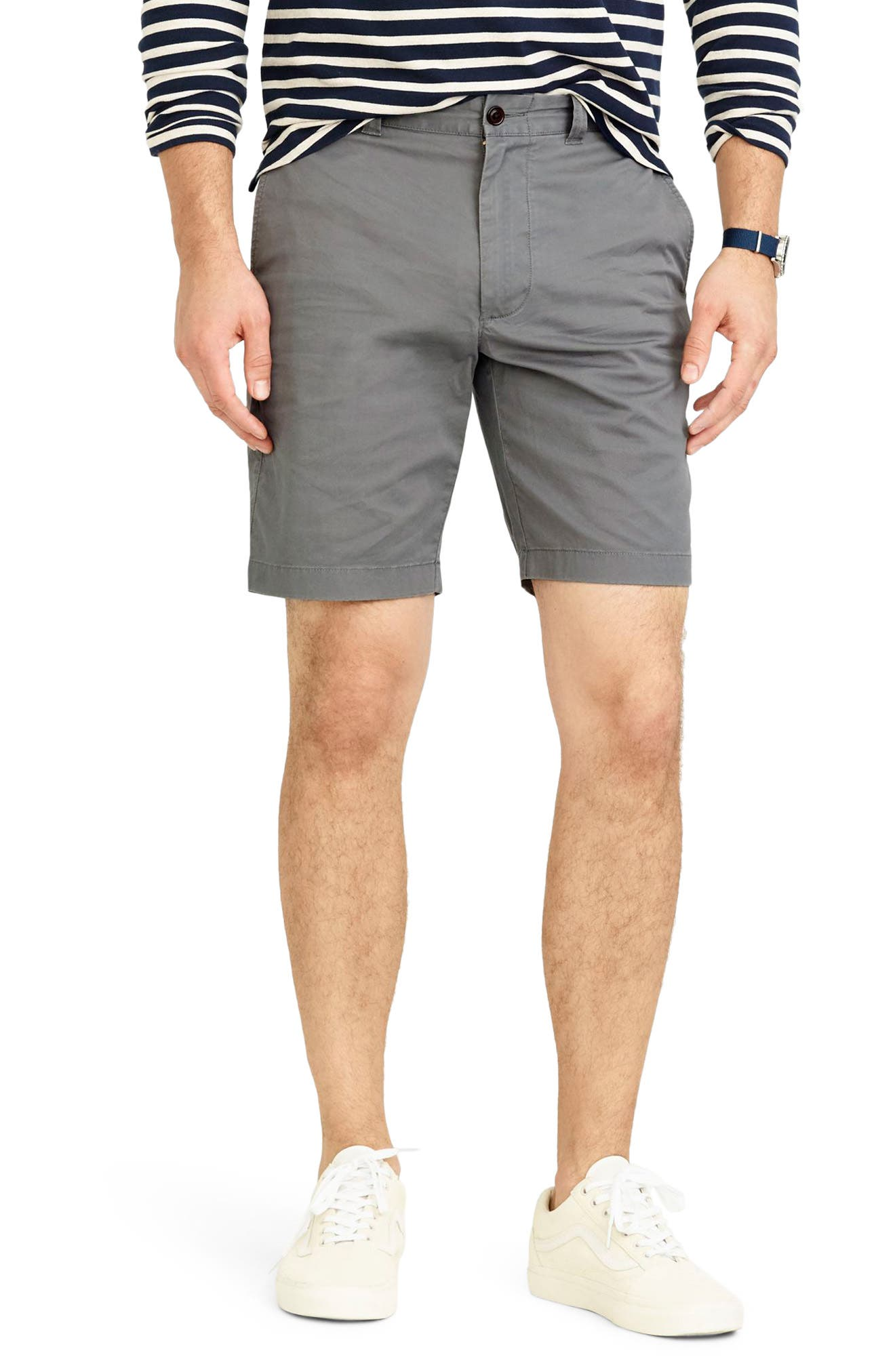 Stretch Chino Shorts,                         Main,                         color, 020