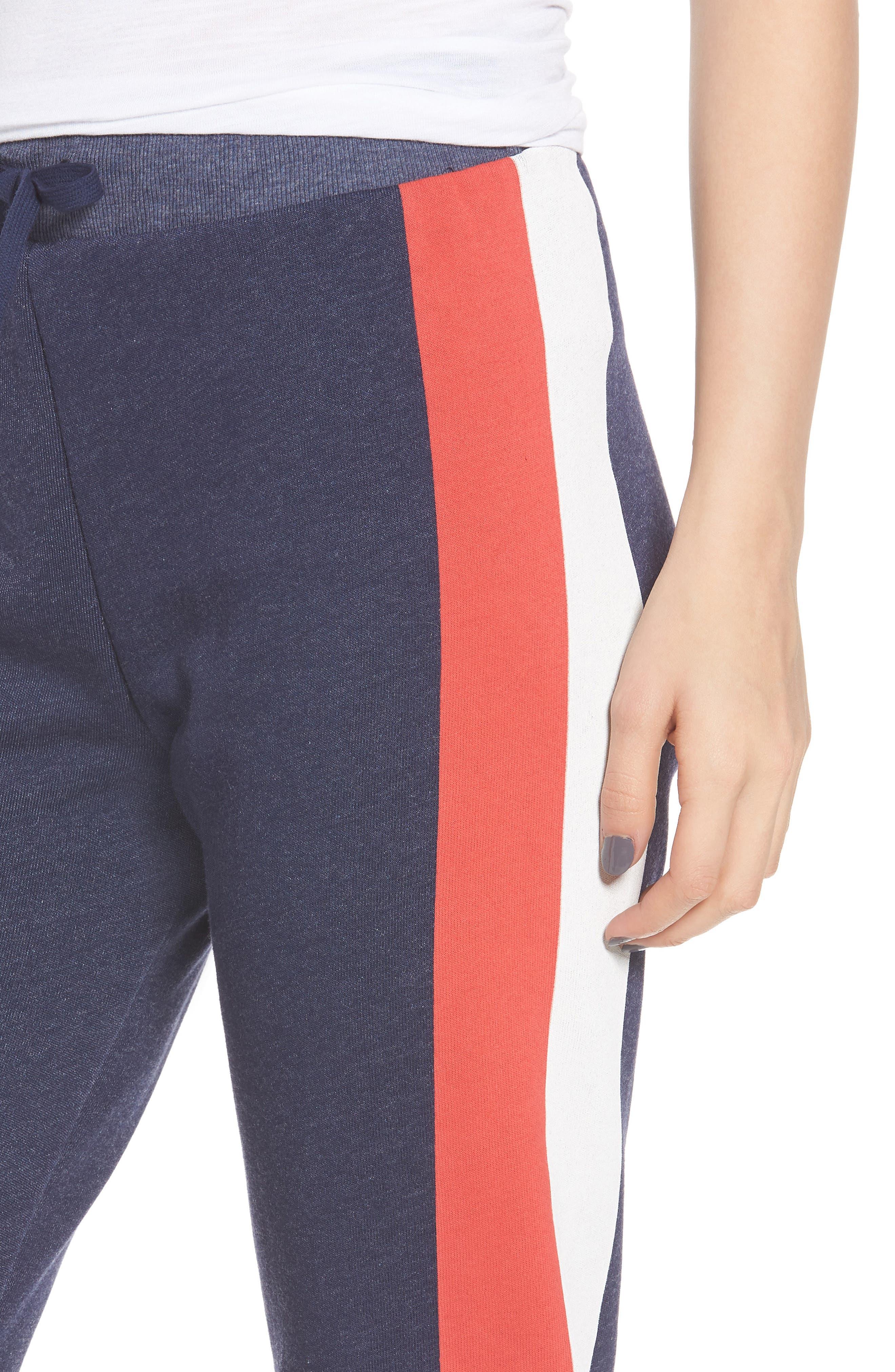 Jack Varsity Stripe Jogger Pants,                             Alternate thumbnail 4, color,                             410