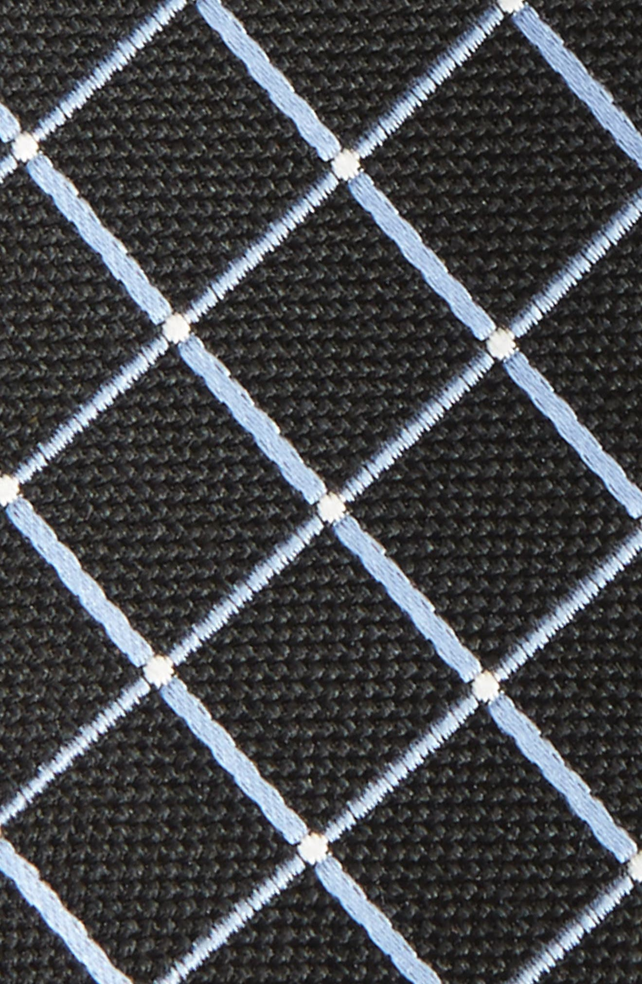 Geometric Silk Tie,                             Alternate thumbnail 3, color,                             001