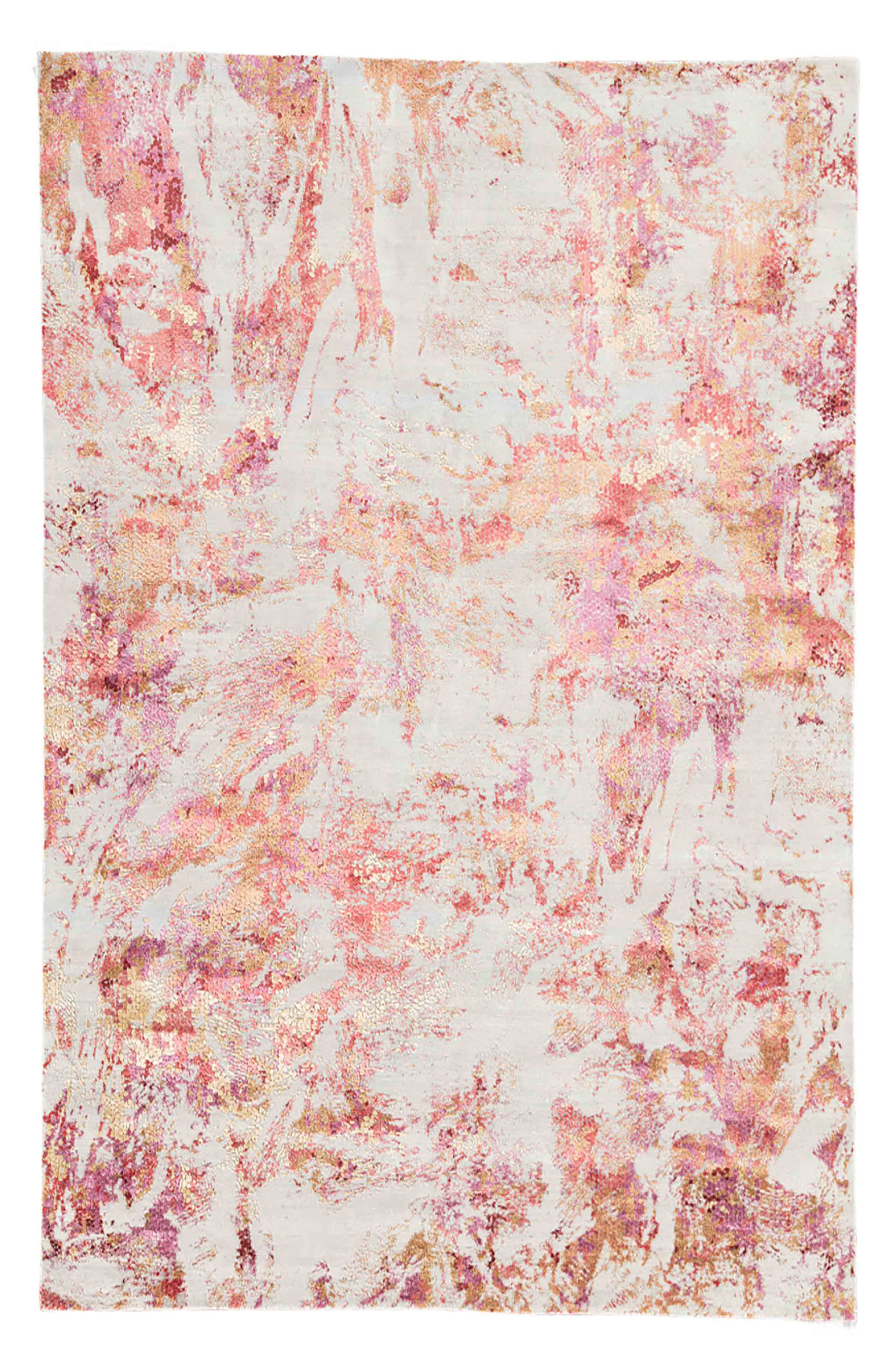 Unstring Rug,                         Main,                         color, PINK