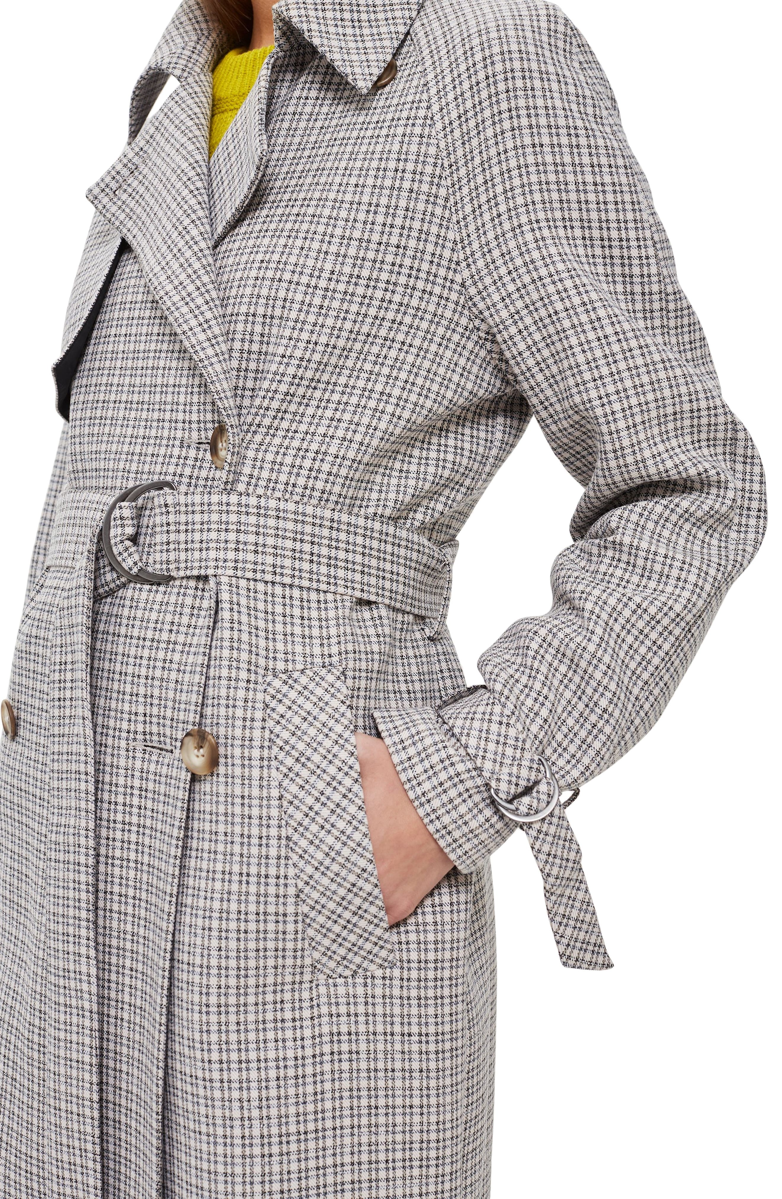 Angie Trench Coat,                             Alternate thumbnail 4, color,                             020
