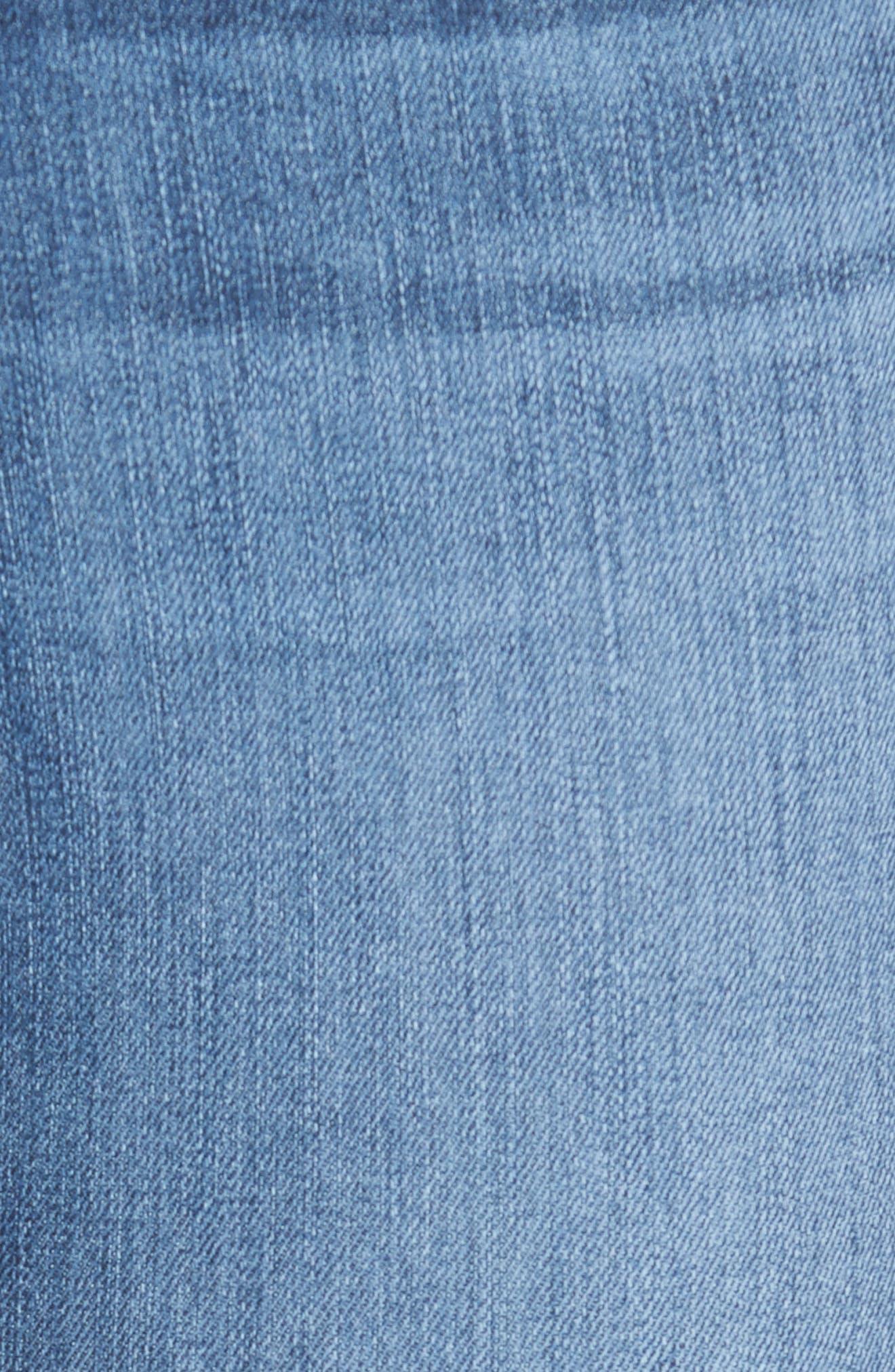 High Waist Ankle Skinny Jeans,                             Alternate thumbnail 6, color,                             426