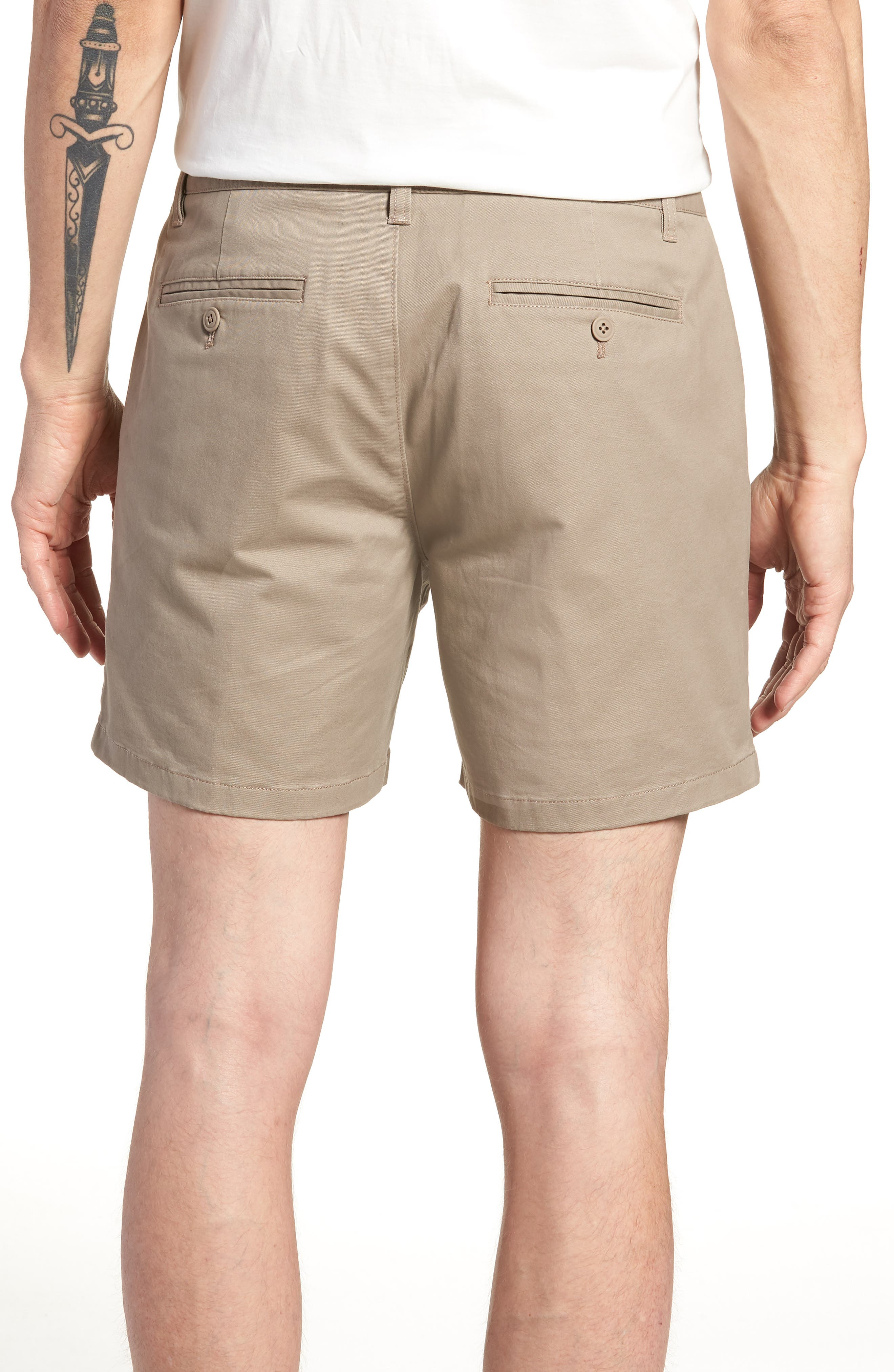 Stretch Washed Chino 5-Inch Shorts,                             Alternate thumbnail 30, color,