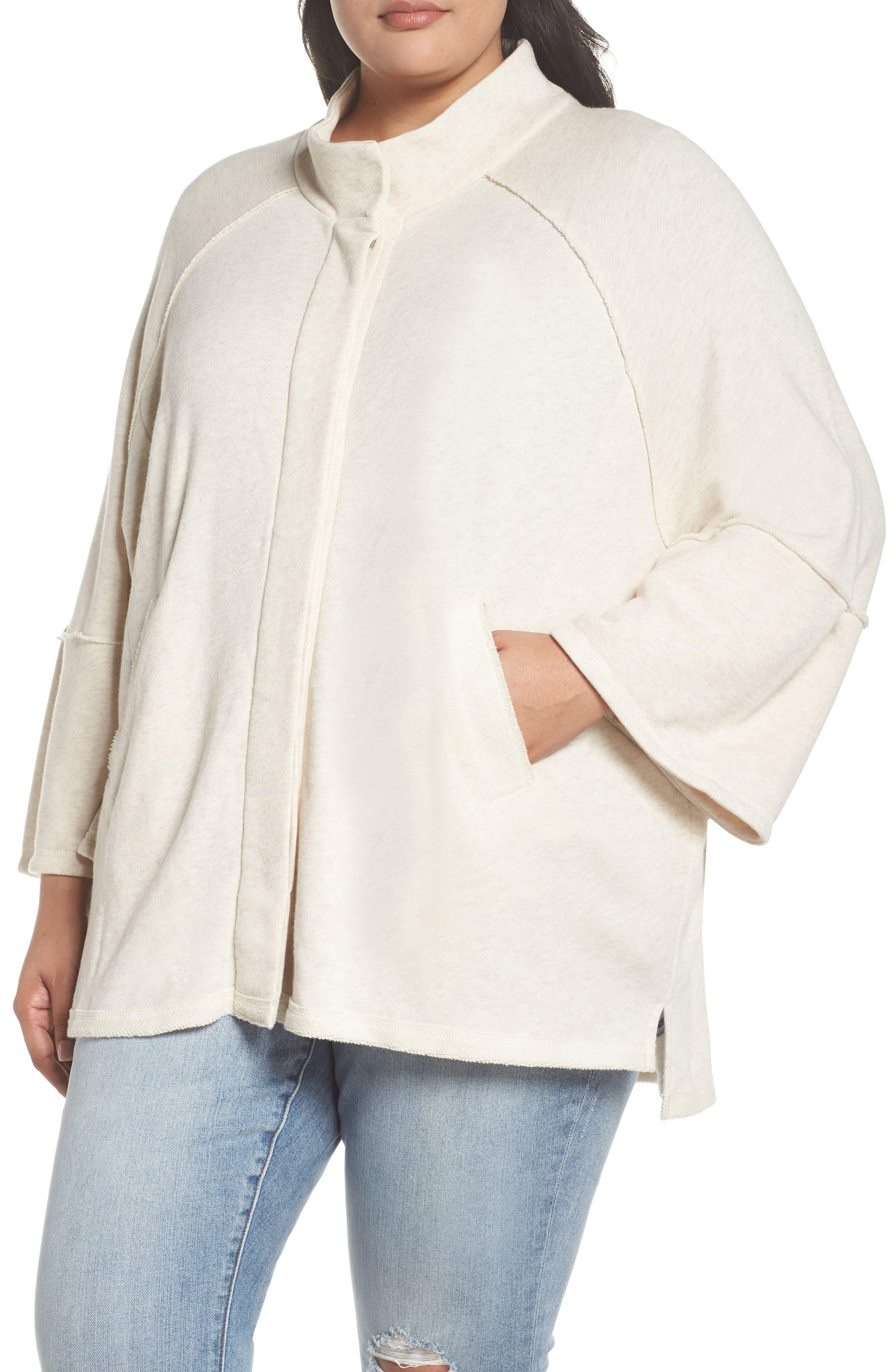 Button Front Knit Jacket,                             Alternate thumbnail 4, color,                             270
