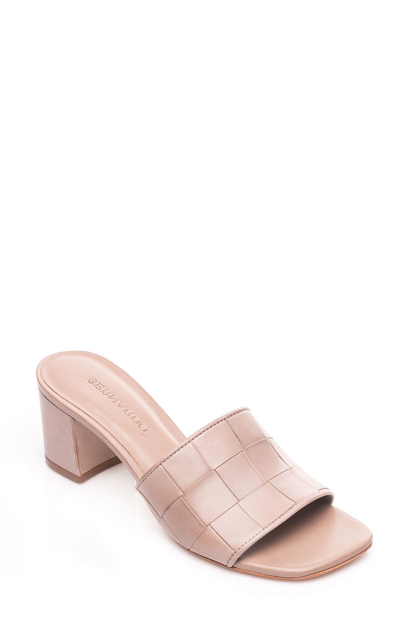 Bernardo Bridget Block Heel Sandal,                             Main thumbnail 2, color,