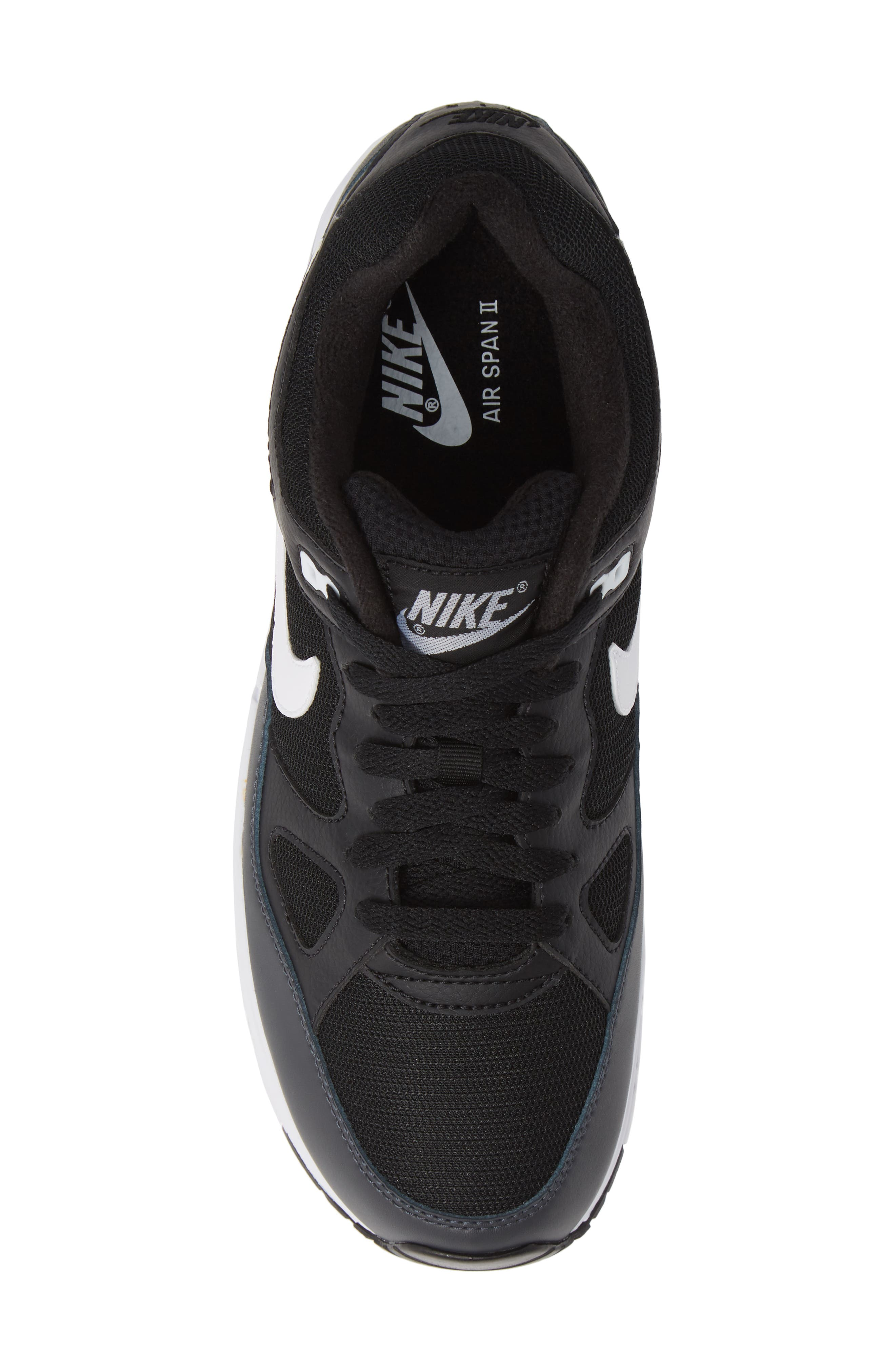 Air Span II Sneaker,                             Alternate thumbnail 5, color,                             BLACK/ WHITE/ ANTHRACITE