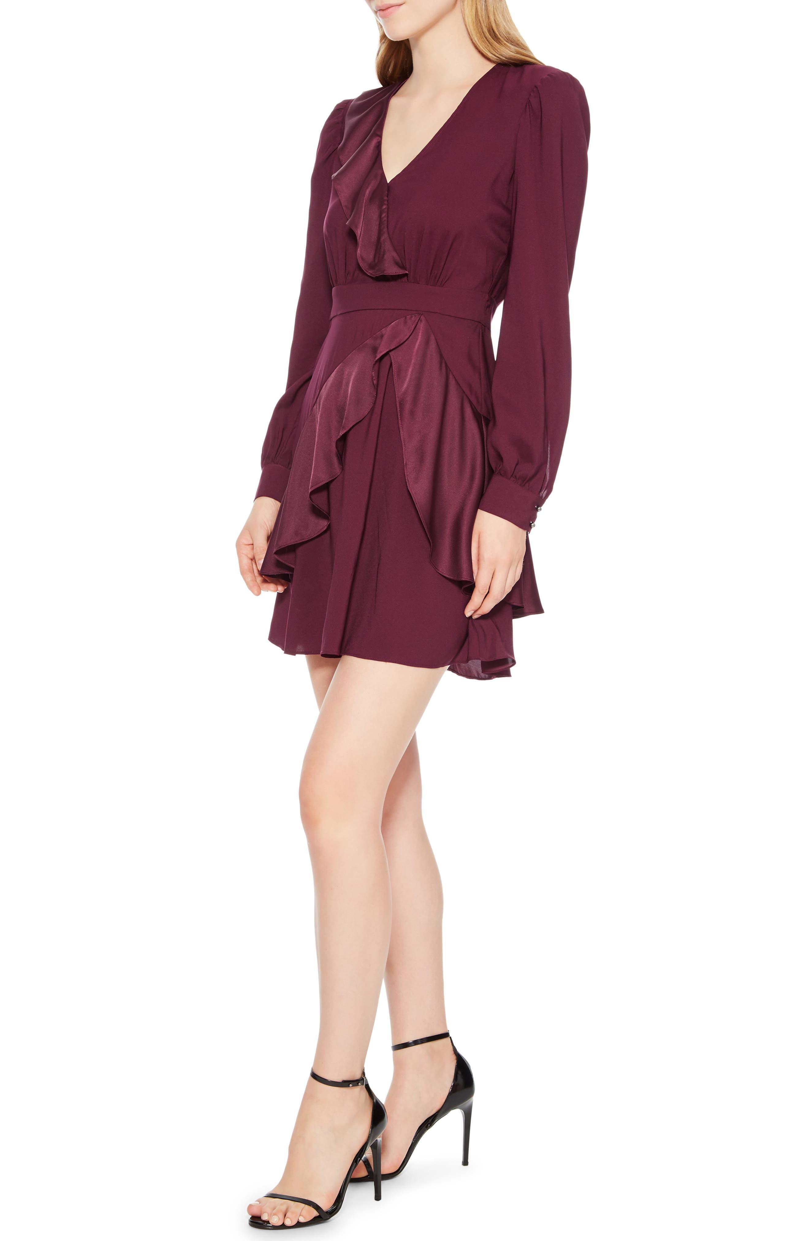 Nancy Ruffle Dress,                             Alternate thumbnail 3, color,                             930